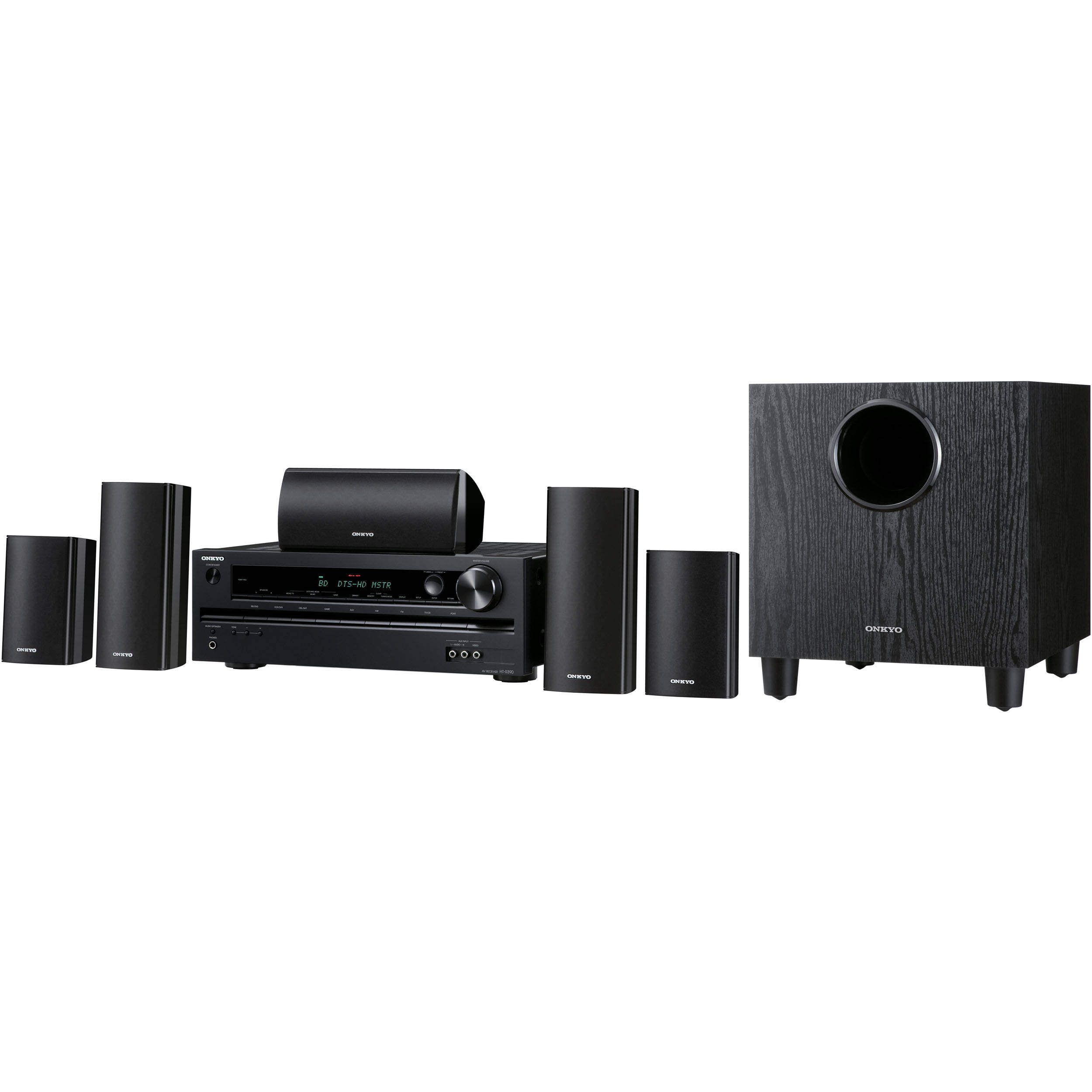 Onkyo HT-S3400 5 1 Home Theater System