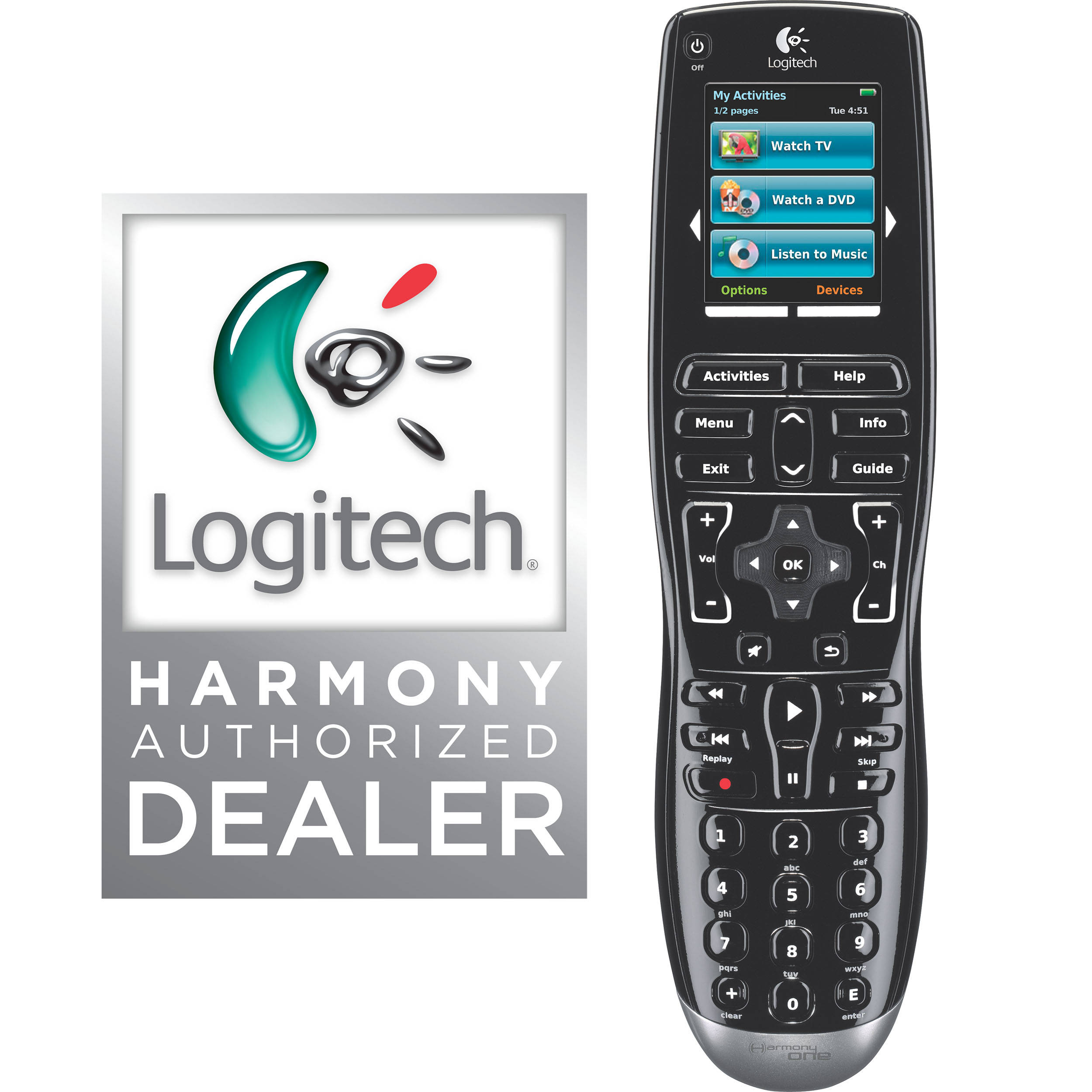 Harmony/Logitech Harmony One Universal Remote Control