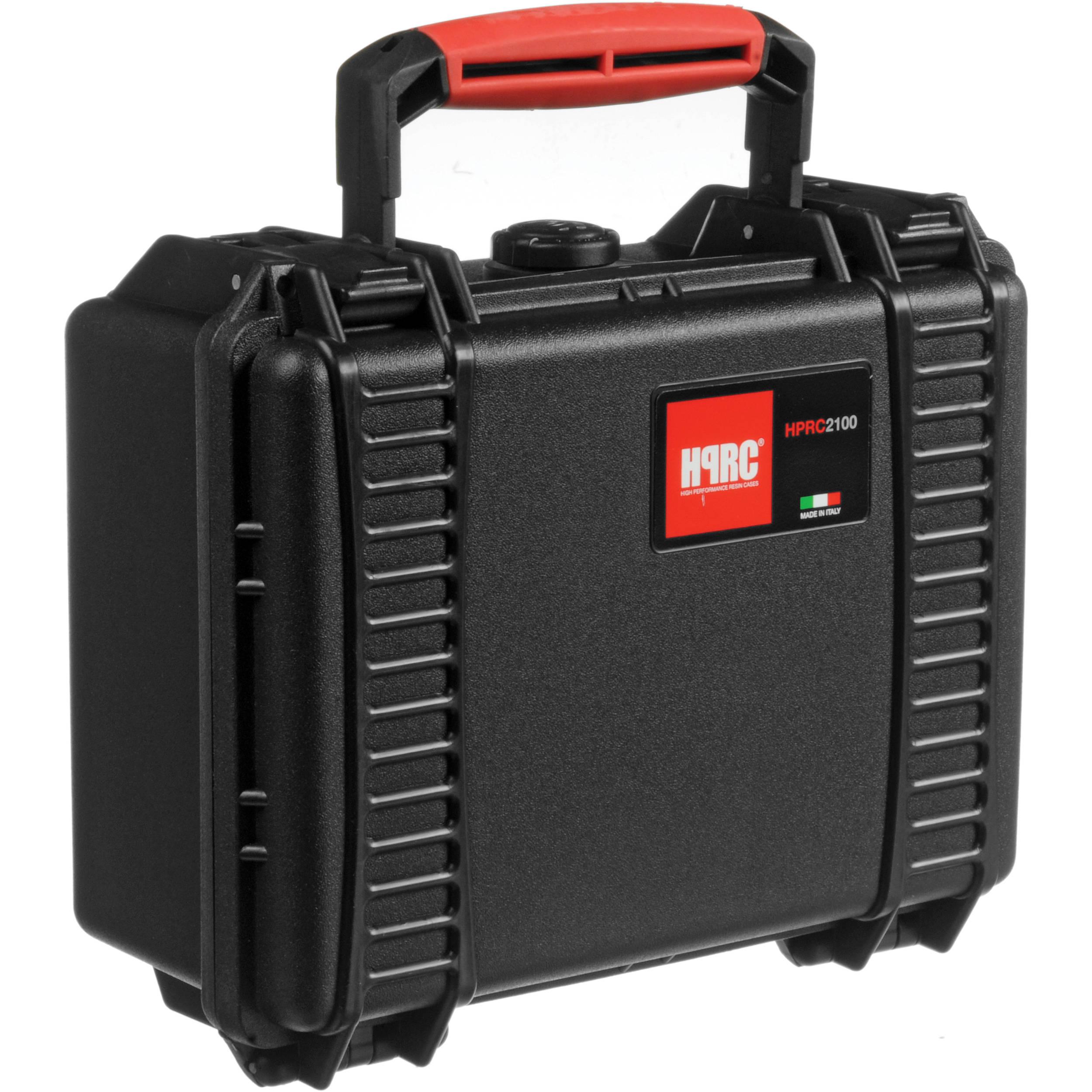 d9d04936975d HPRC 2100F HPRC Hard Case with Cubed Foam Interior (Black)
