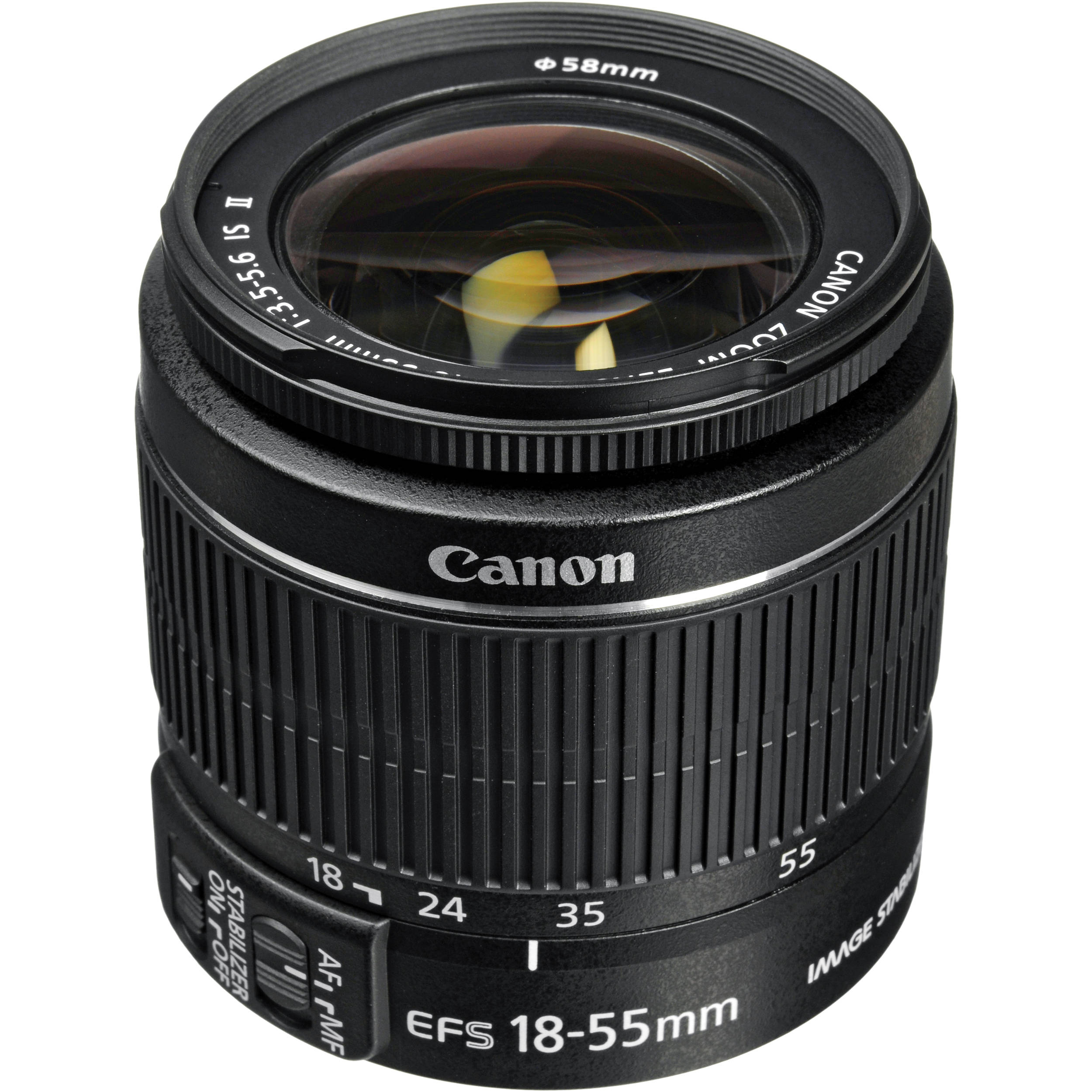 Canon EF-S 18-55mm f/3 5-5 6 IS II Lens