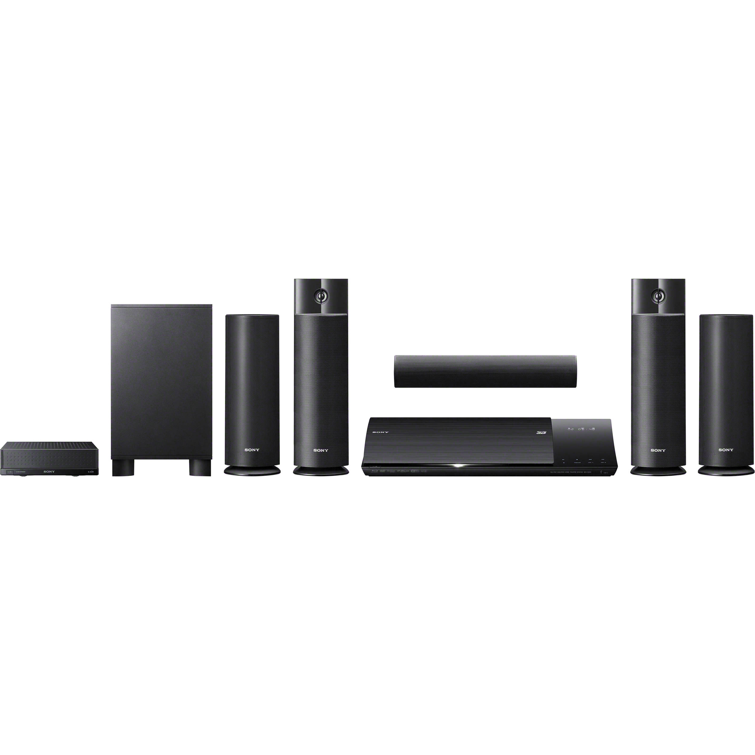 Sony Bdvn790w 3d Blu Ray Home Theater System