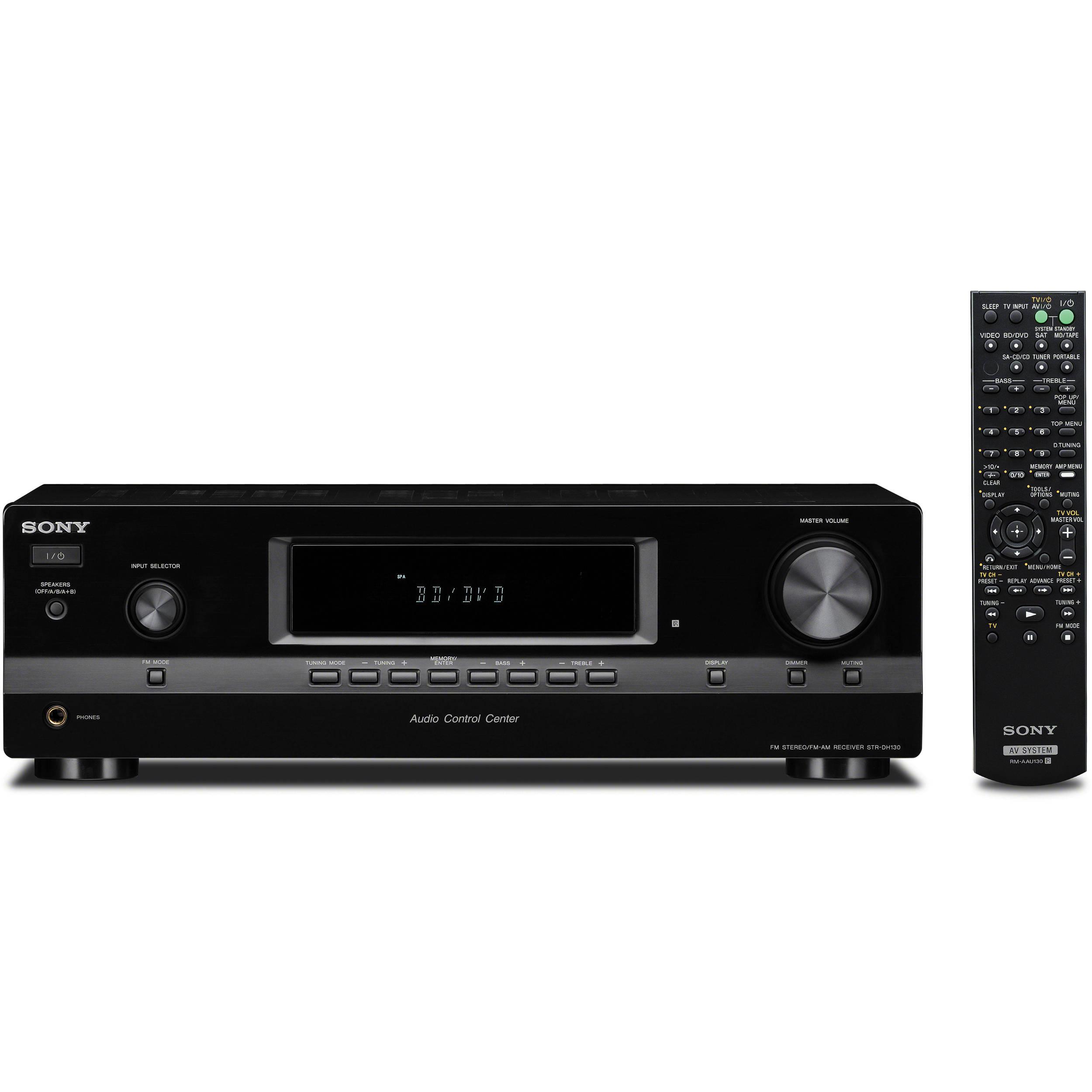 Sony STR-AV310 Digital AM//FM Stereo Audio Video Control Center Receiver