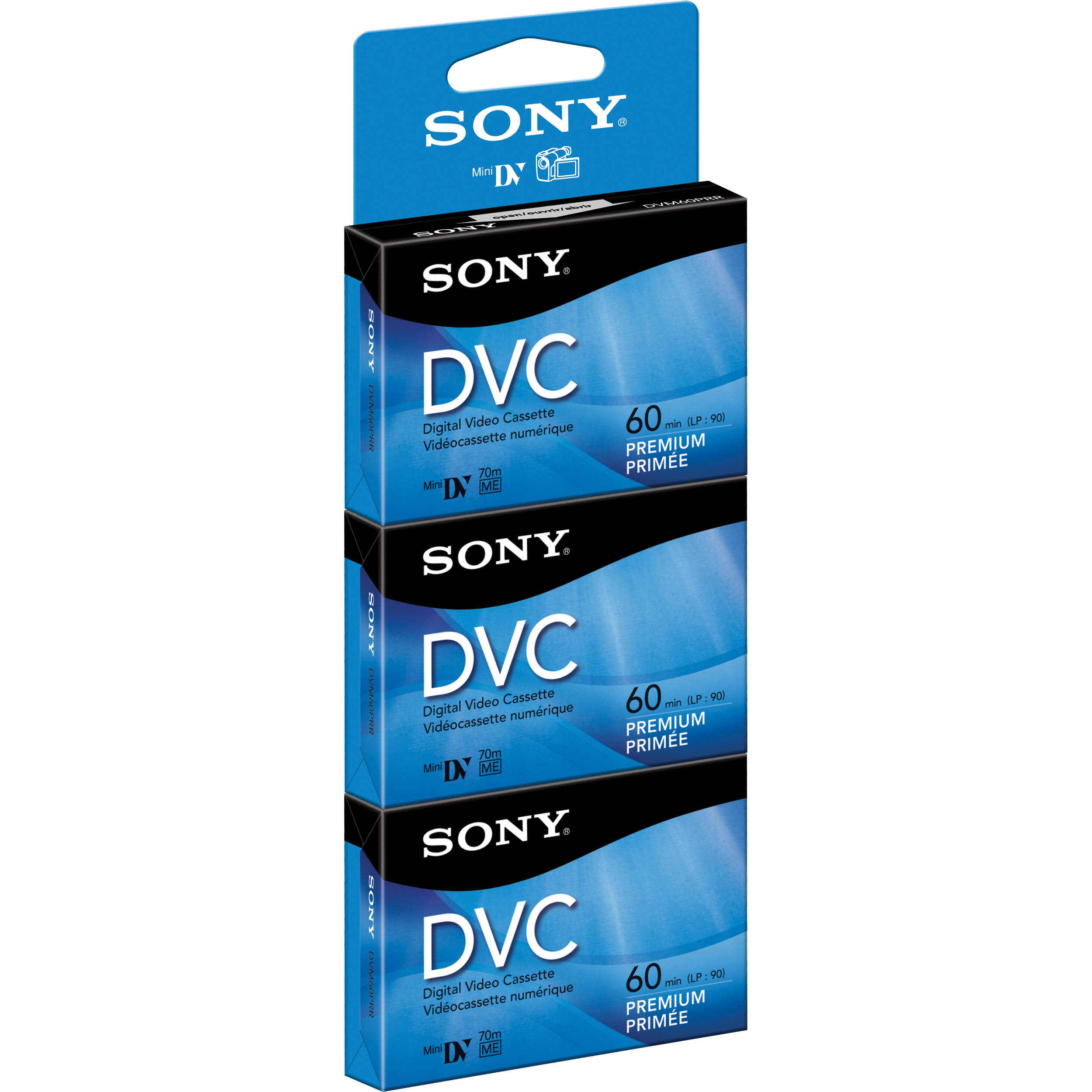Sony DV 60 Digital Video Recorder Cassette Mini DV NEW DVM60PR3