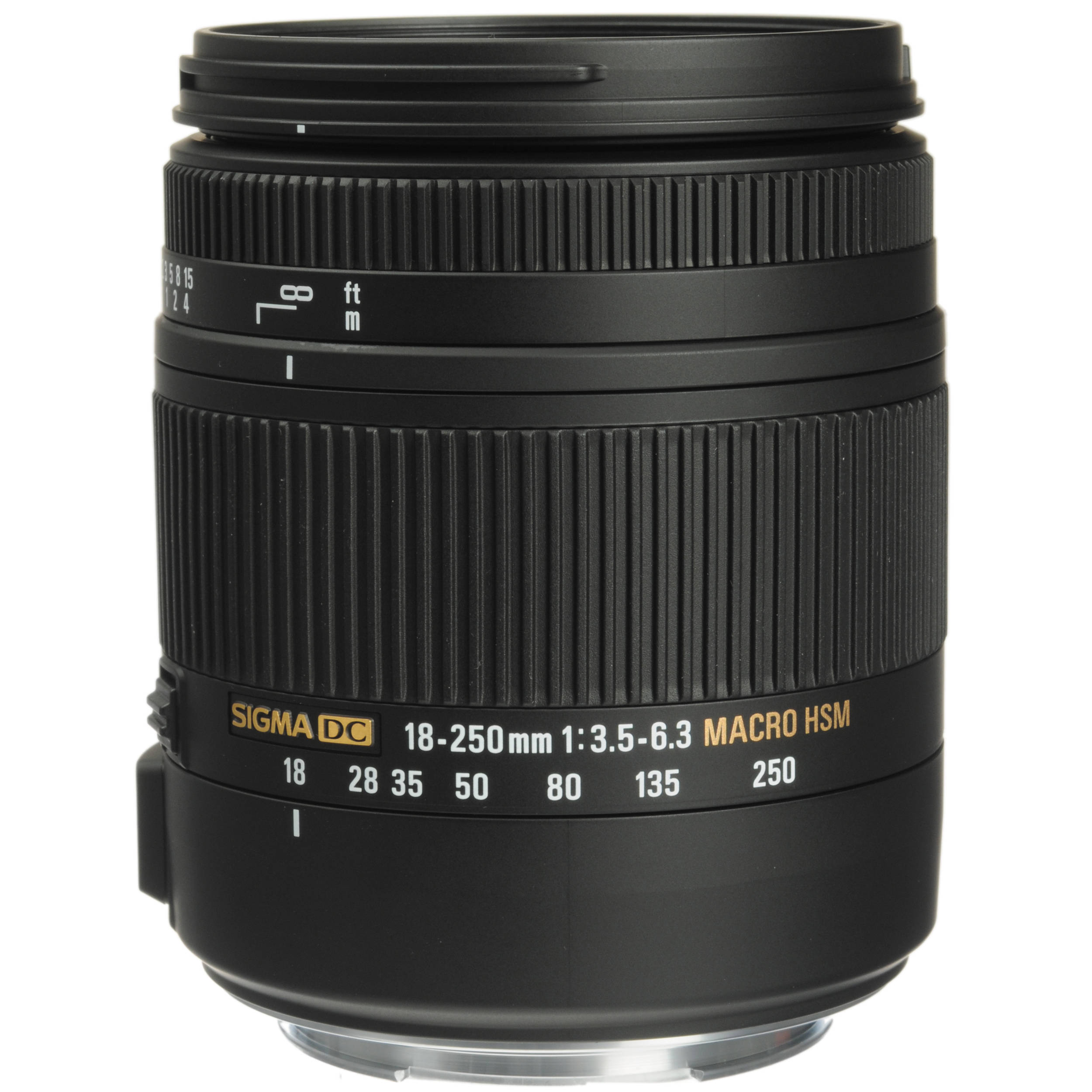 Sigma 18-250mm F3 5-6 3 DC Macro OS HSM for Canon EF Mount