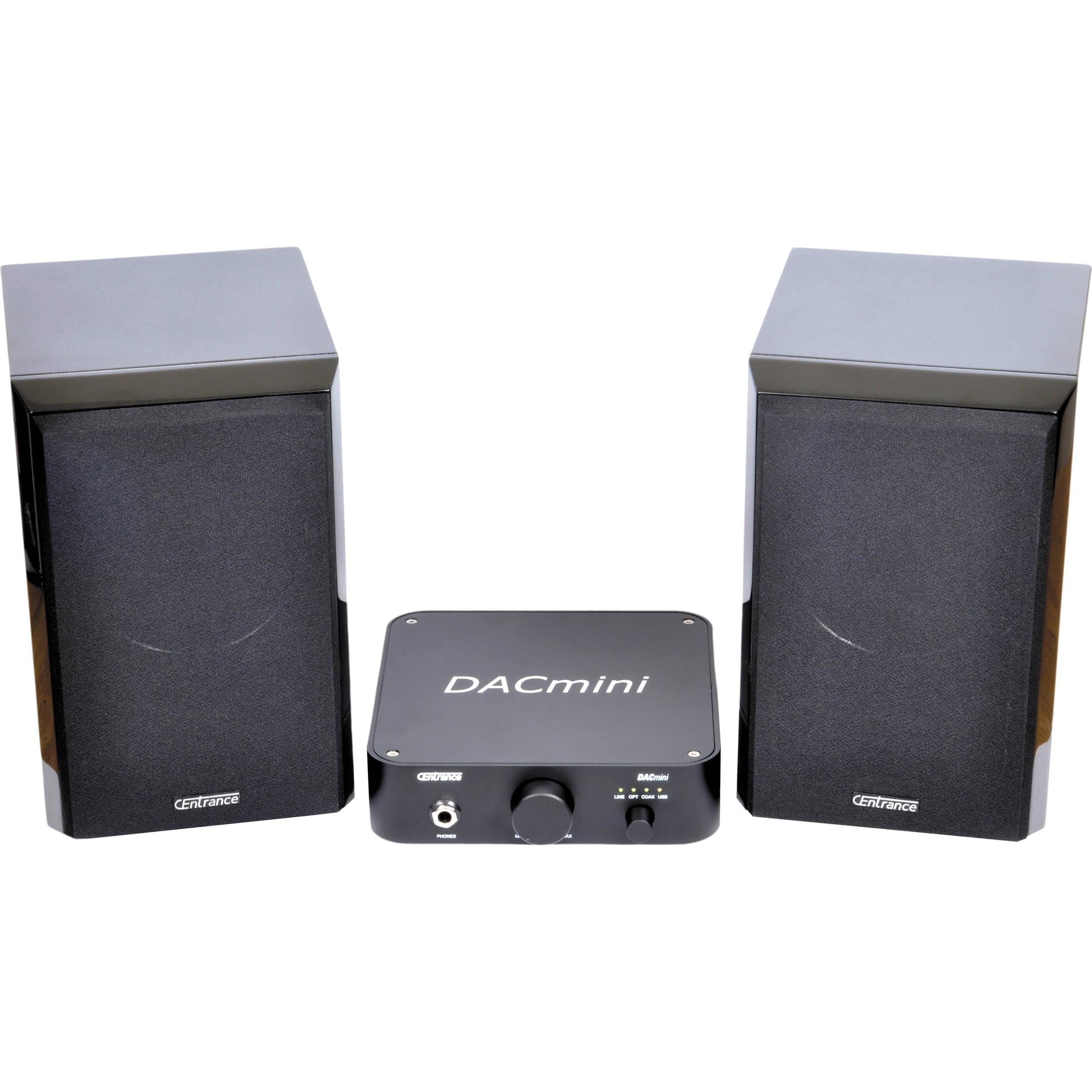 CEntrance Inc  Audiophile Desktop DAC and Speaker System