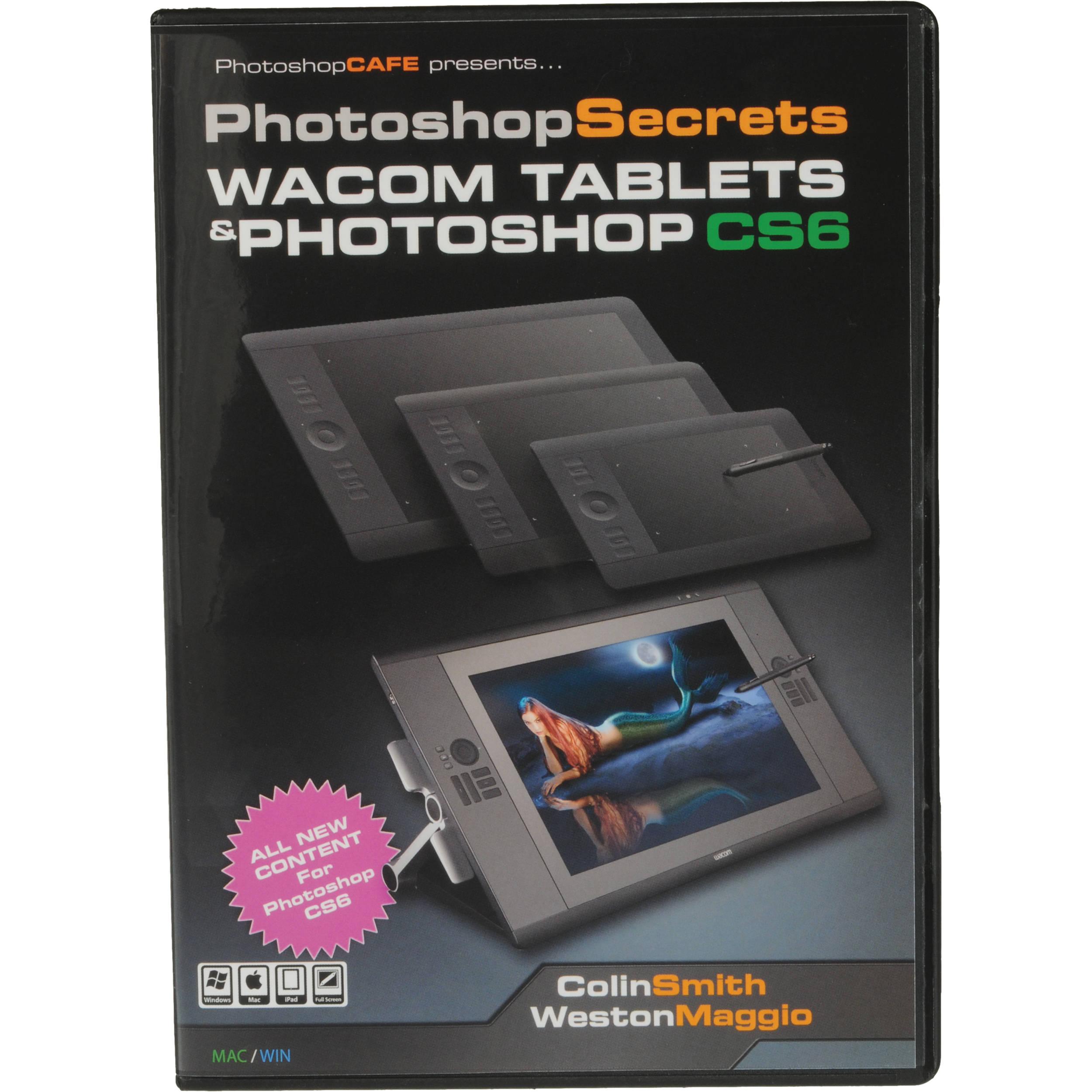 PhotoshopCAFE DVD: Photoshop Secrets: Wacom Tablets and CS6WACOM