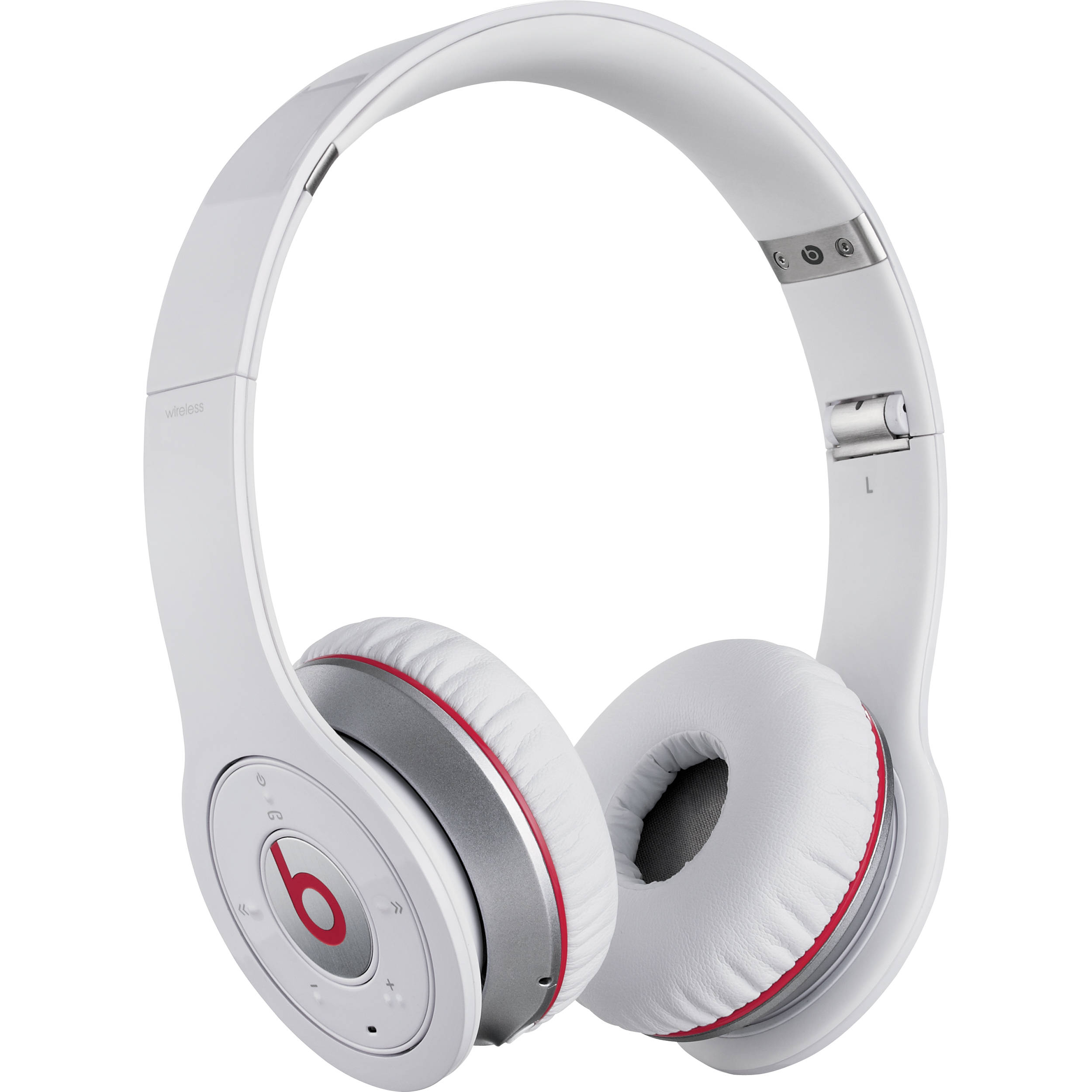Beats by Dr  Dre Wireless Bluetooth On-Ear Headphones (White)