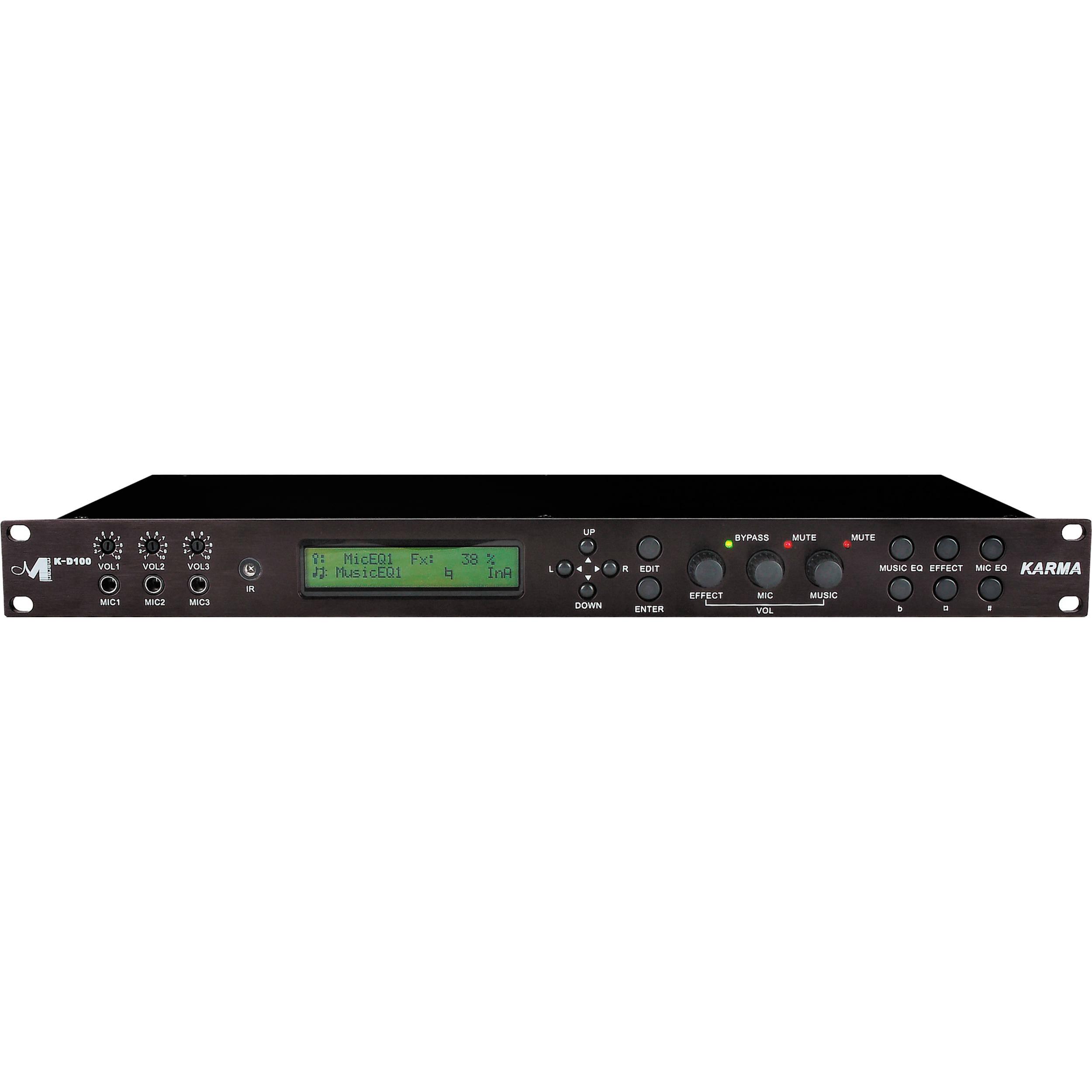 Marani K-D100 Digital Karaoke Processor
