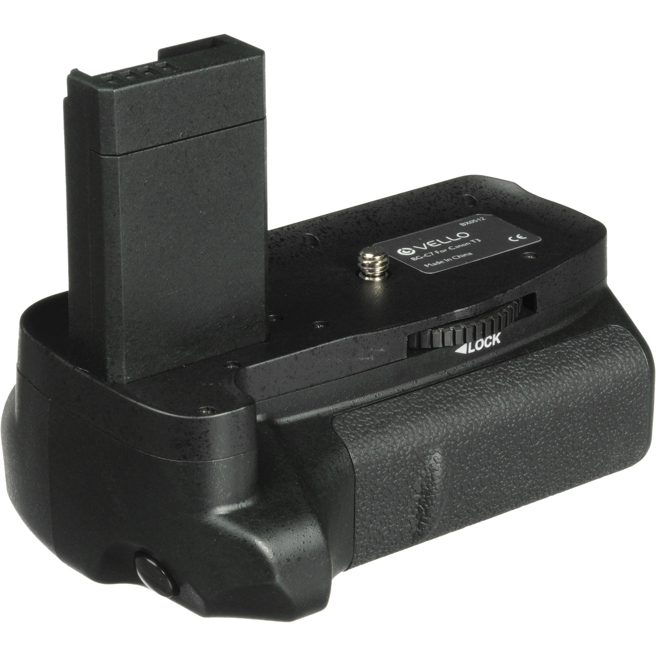 Vello BG-C7 Battery Grip for Canon EOS Rebel T3, T5 & T6 SLR Cameras