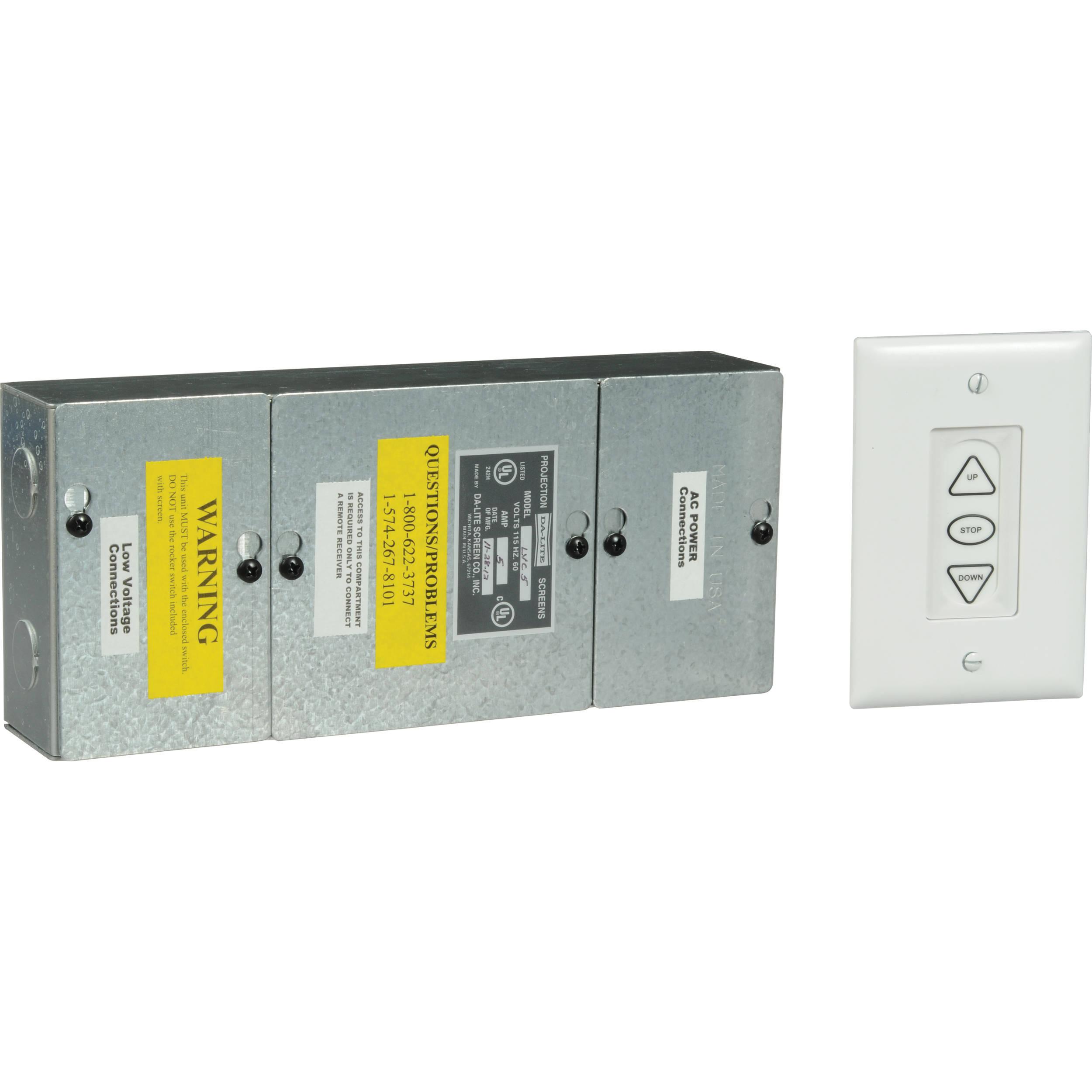 Da-Lite Single Motor Low Voltage Control System on