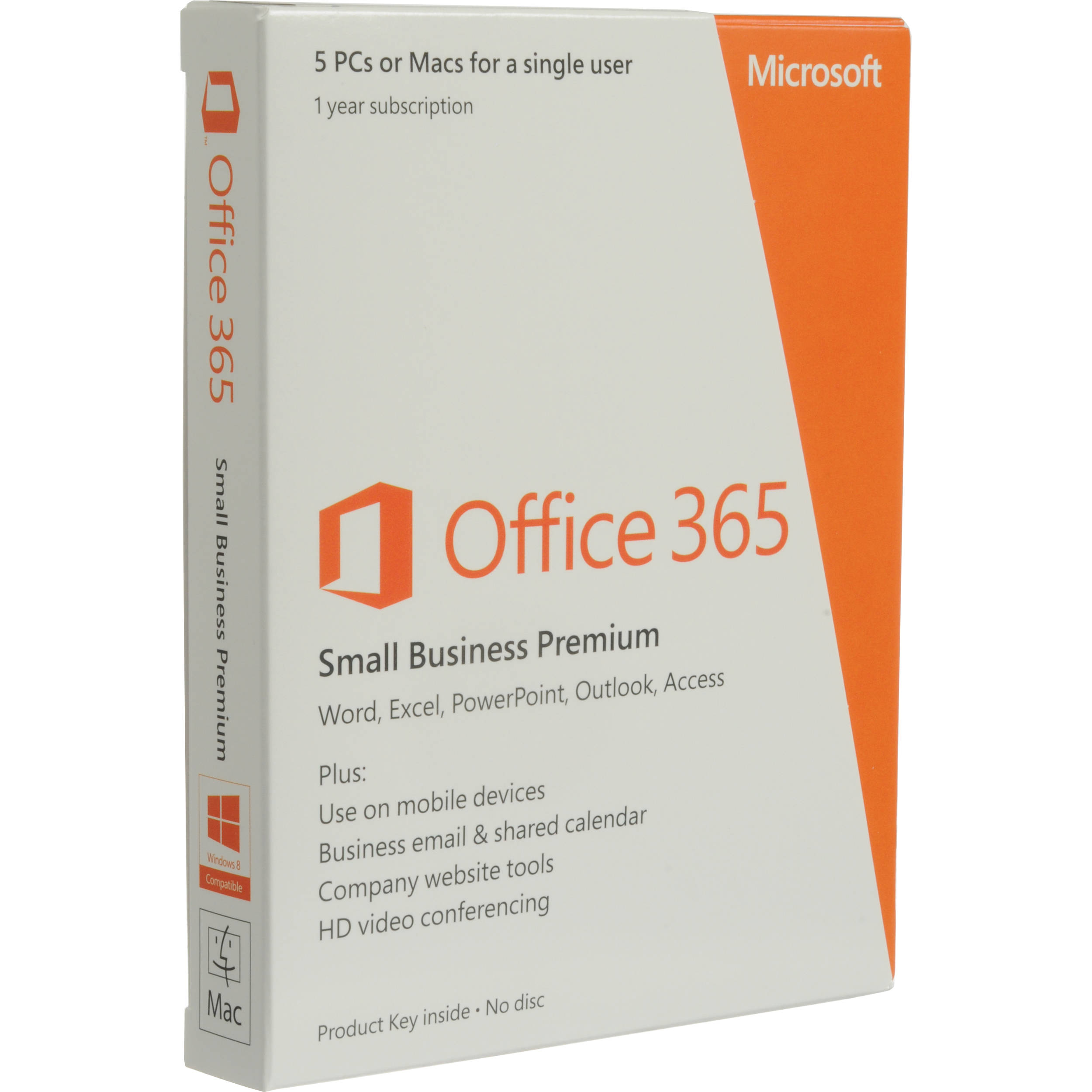 Microsoft Office 365 Small Business 1 Year Subscripti 6sr 00009