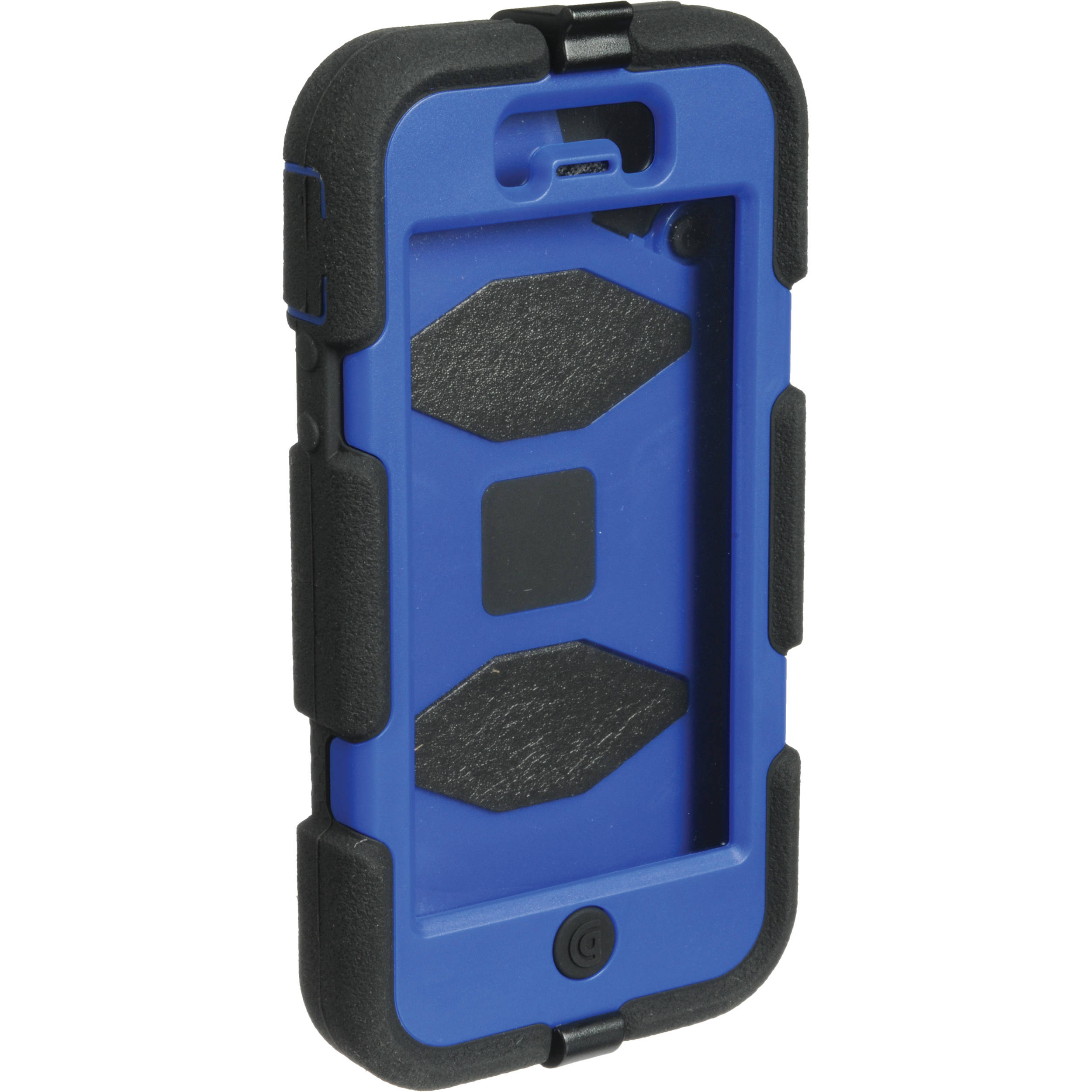 check out 550f1 f89fc Griffin Technology Survivor Case for iPhone 5 (Black/Blue)