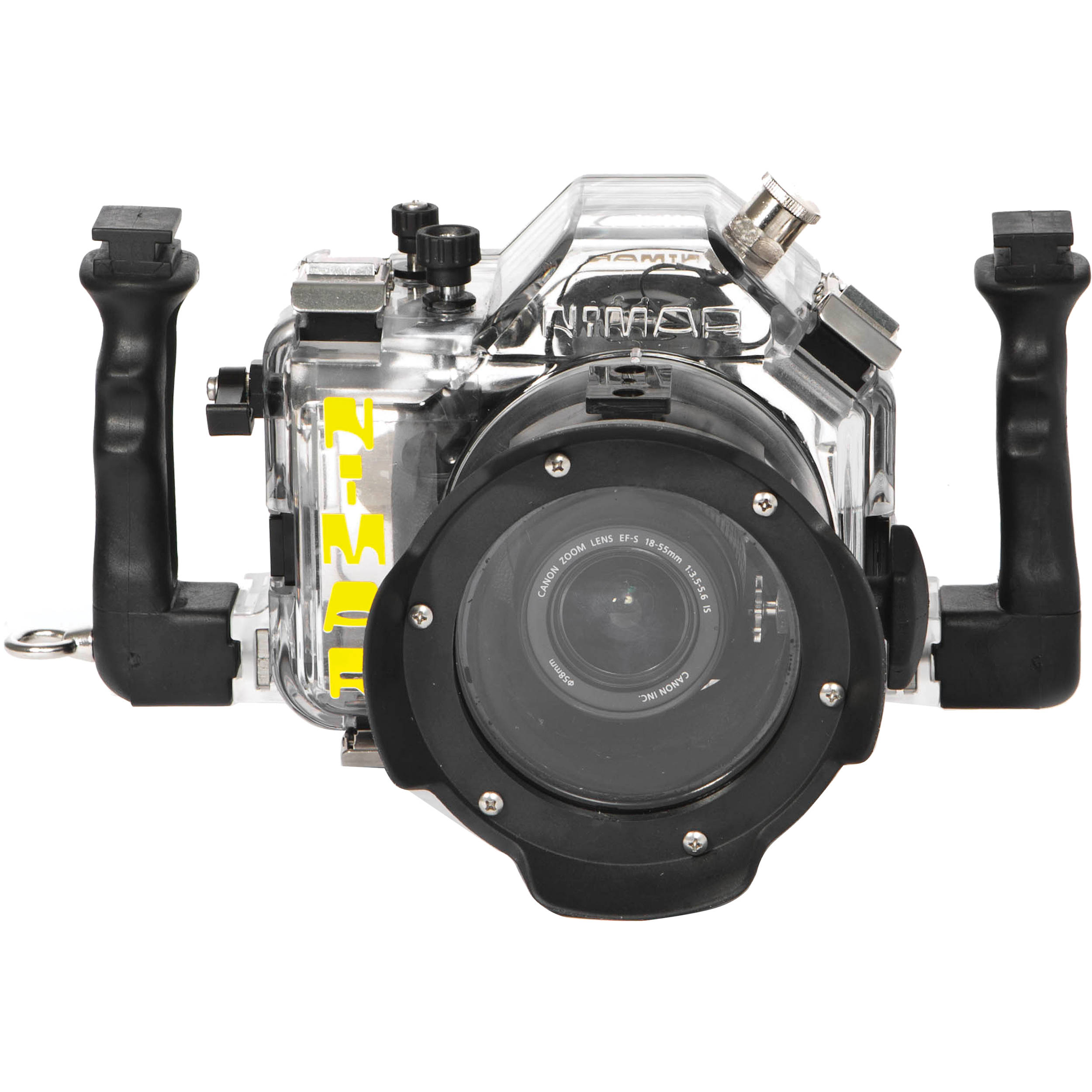 Nimar Underwater Housing for Canon EOS 600D/Rebel T3i with Lens Port for  EF-S 18-55mm f/3 5-5 6 IS