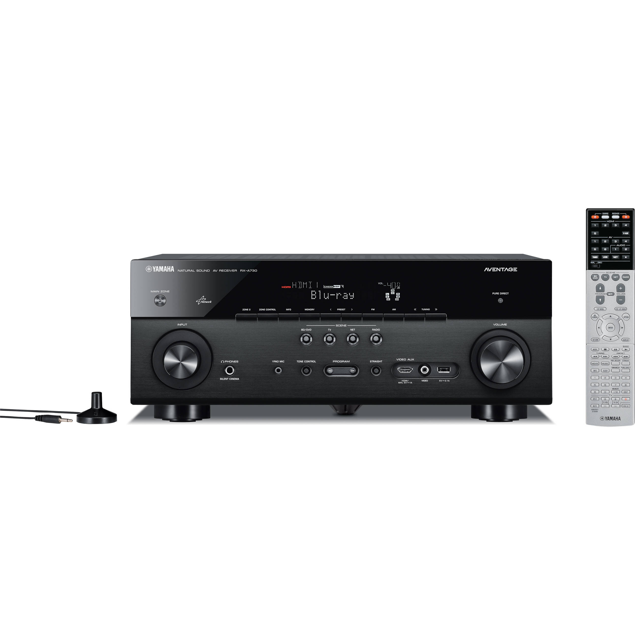 Yamaha AVENTAGE RX-A730 7 2-Channel Network AV Receiver