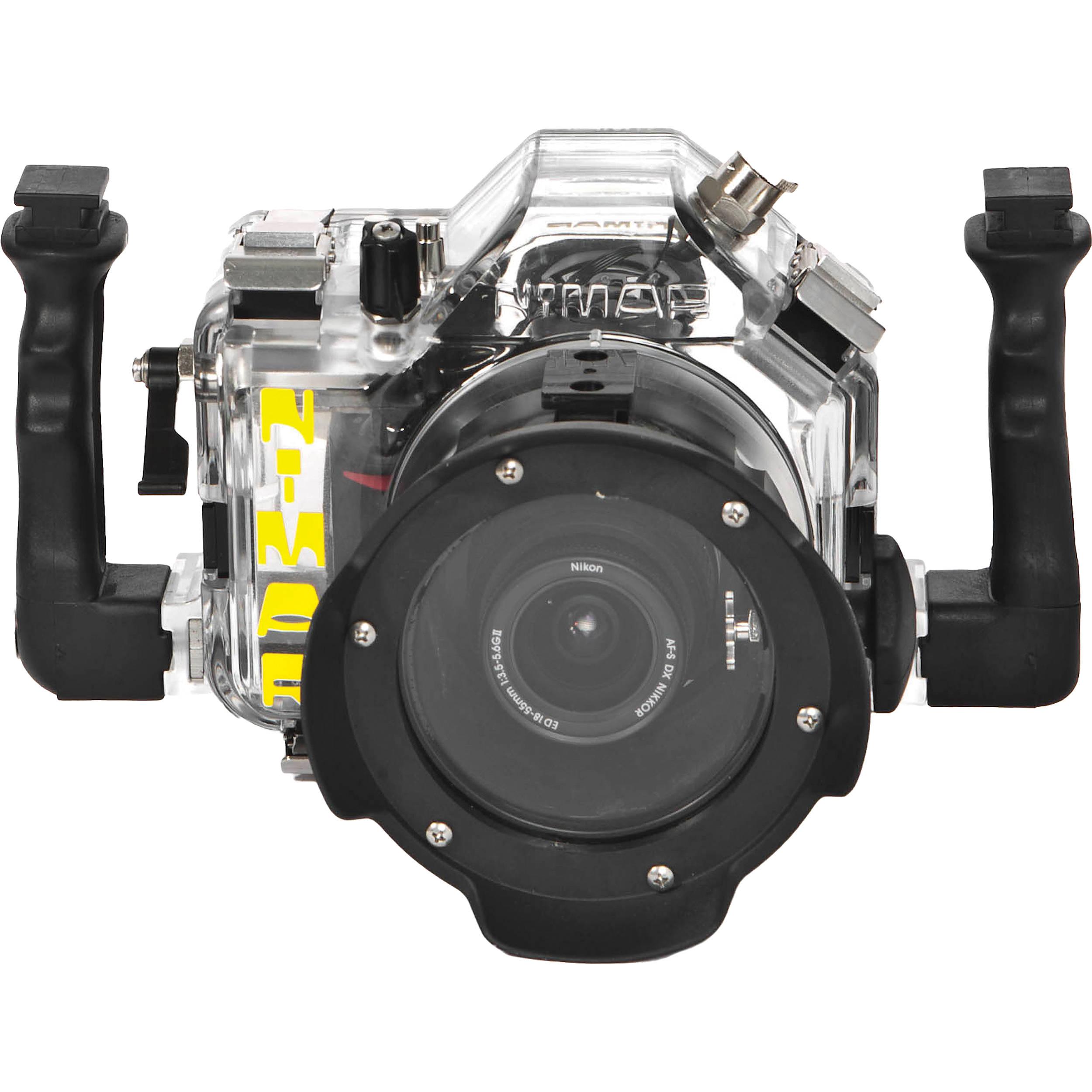 Nimar 3D Underwater Housing for Nikon D3100 with Lens Port for NIKKOR  18-55mm f/3 5-5 6G