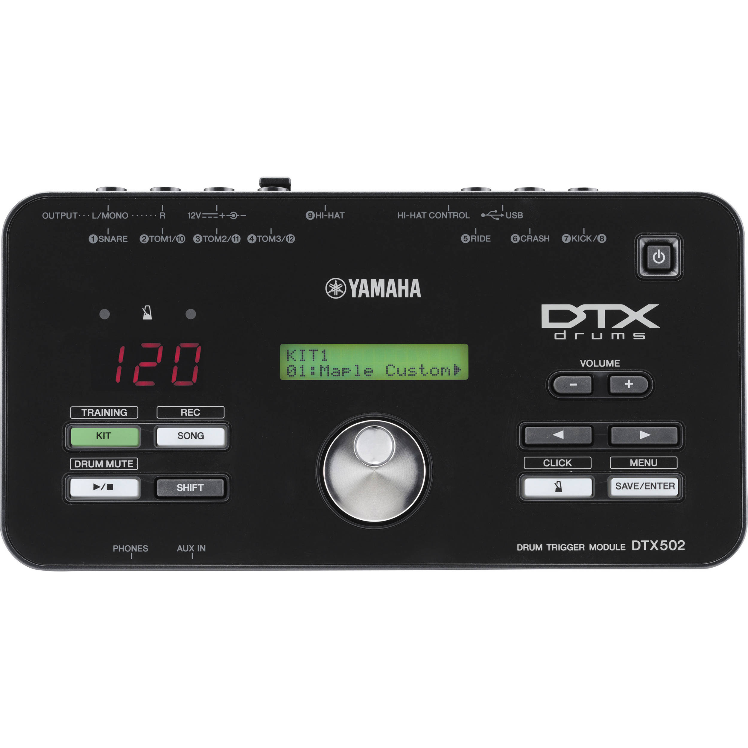 Yamaha DTX502 Electronic Drum Trigger Module for DTX522/32/42/62K Drum Kits