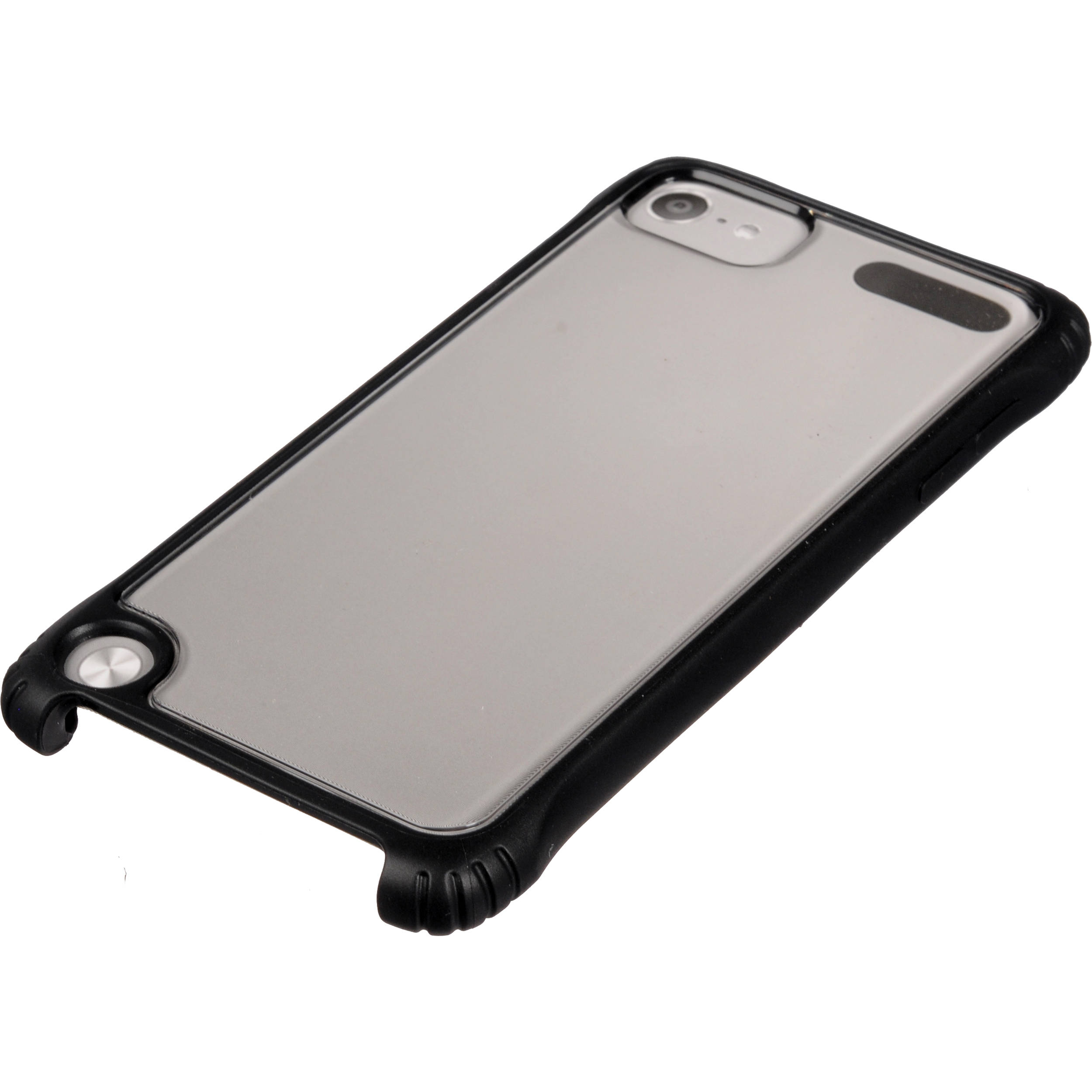 san francisco 46325 b2340 Griffin Technology Survivor Clear Case for iPod touch 5G (Black/Clear)