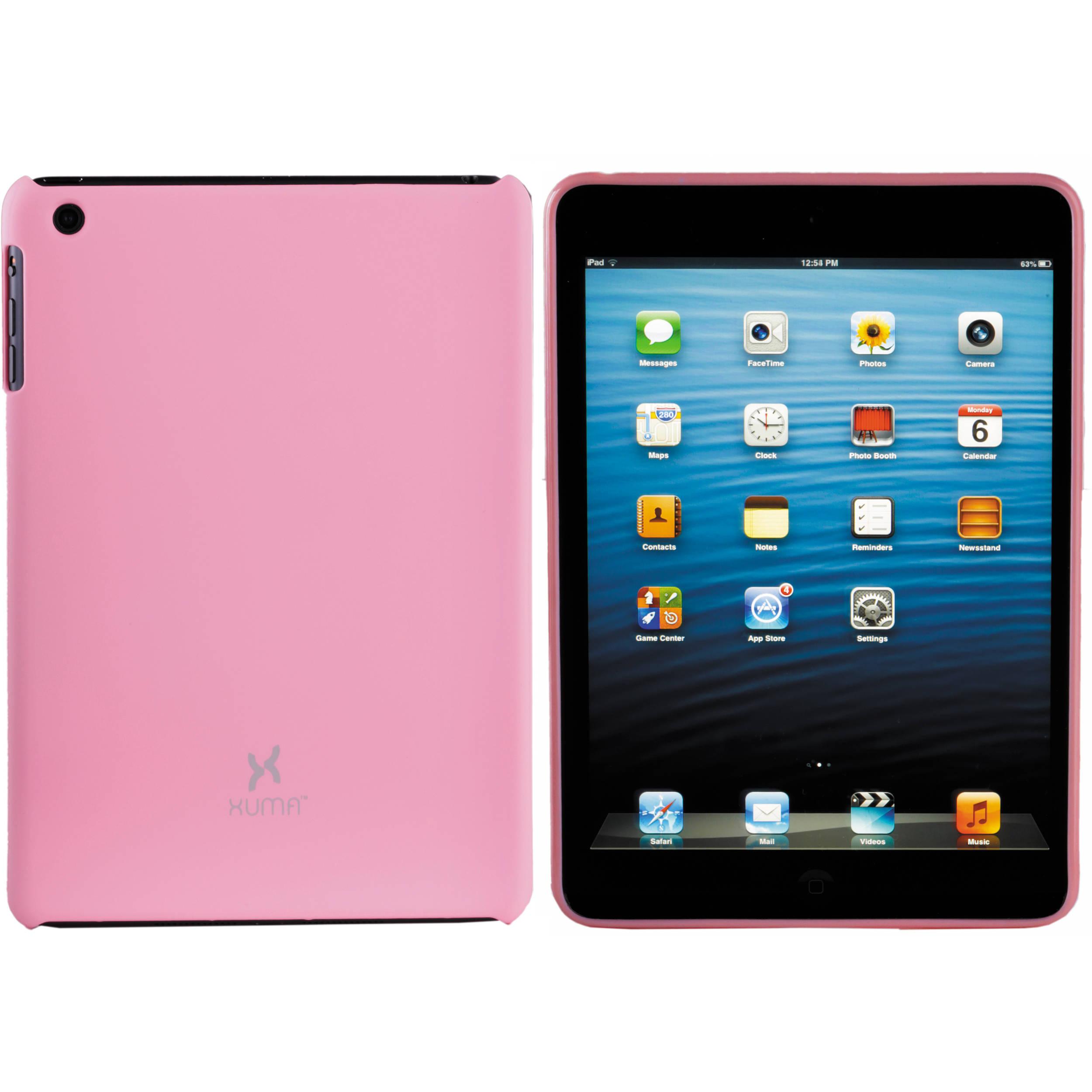 Xuma Hard Snap-on Case for iPad mini 1st Generation (Pink)