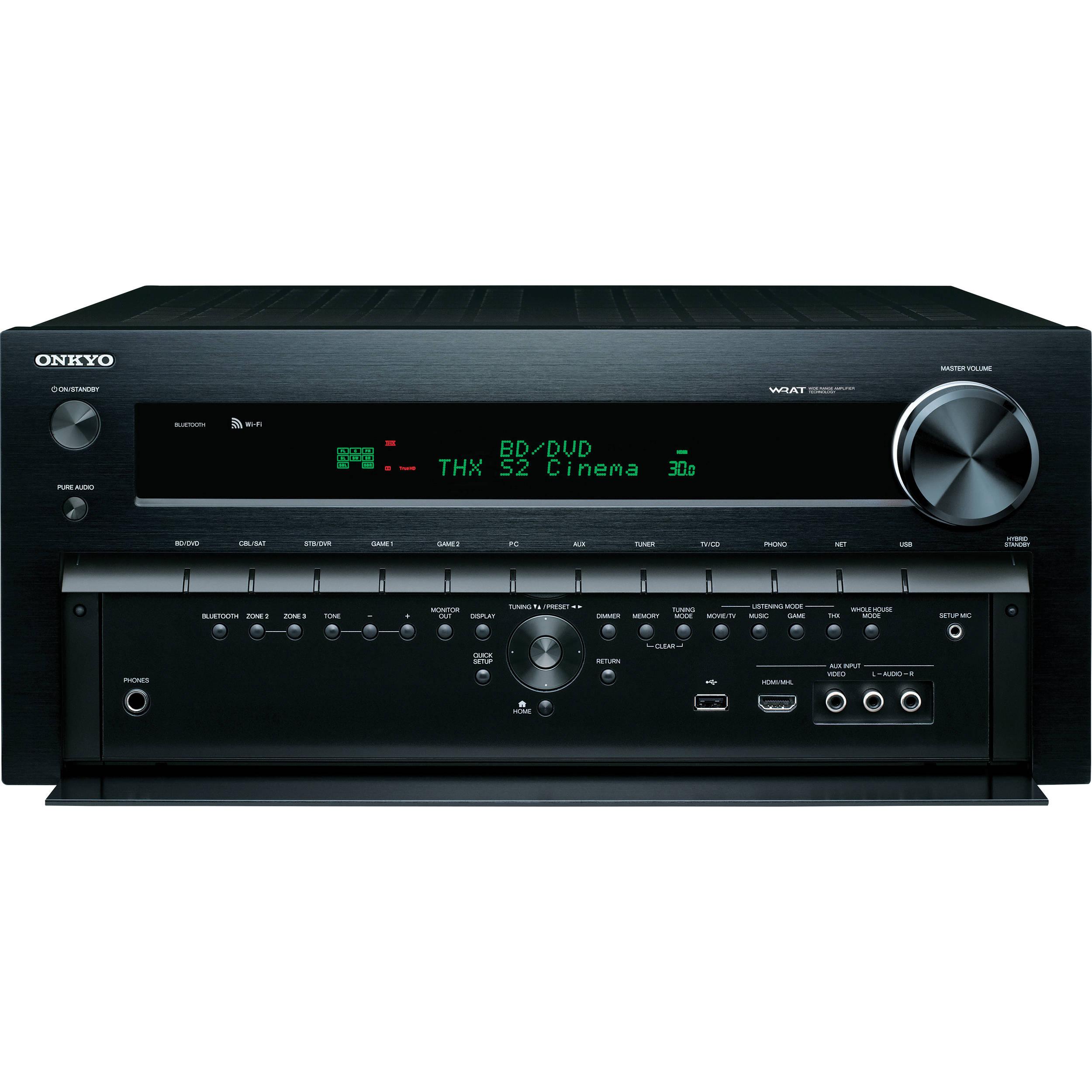 Onkyo TX-NR828 7 2-Channel Network A/V Receiver