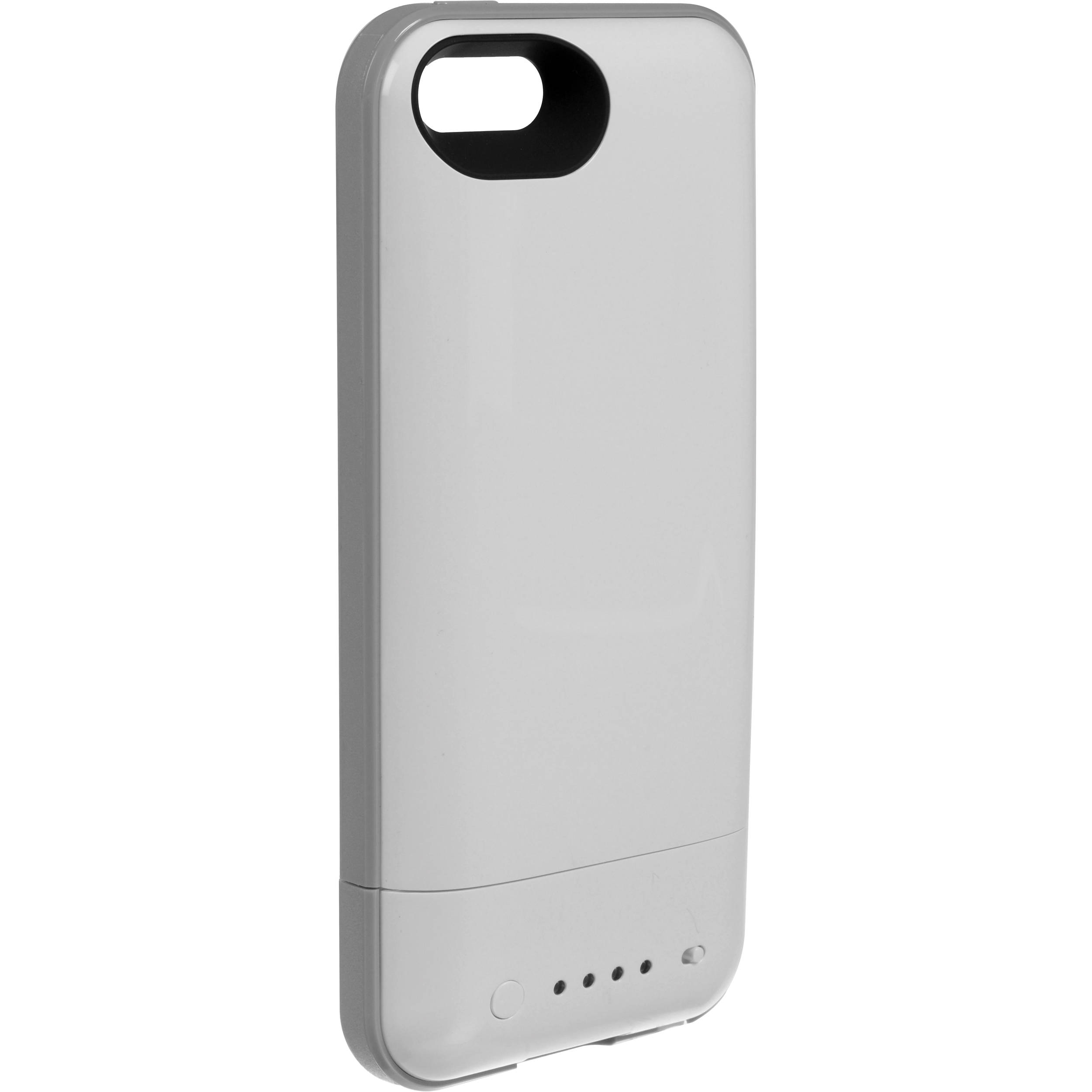 sports shoes 4a056 ffc2d mophie juice pack plus for iPhone 5/5s/SE (White)
