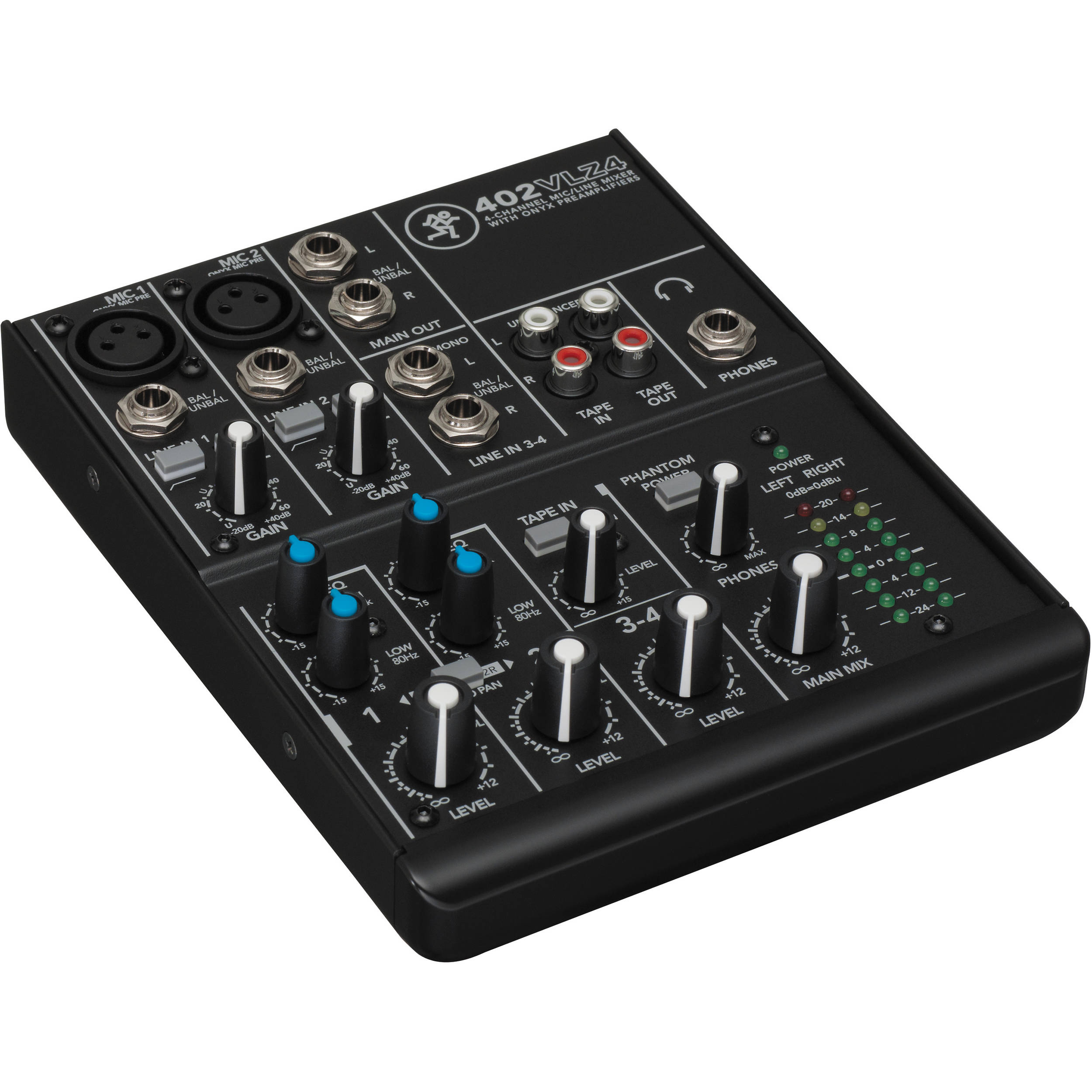 Mackie 402VLZ4 4-Channel Ultra-Compact Mixer