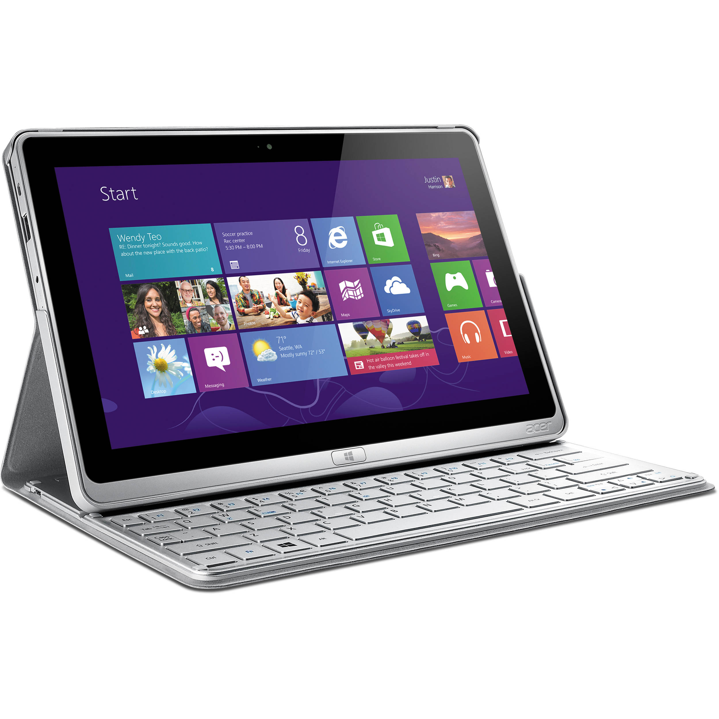 "Acer 120GB Aspire P3 11.6"" Tablet/Ultrabook"