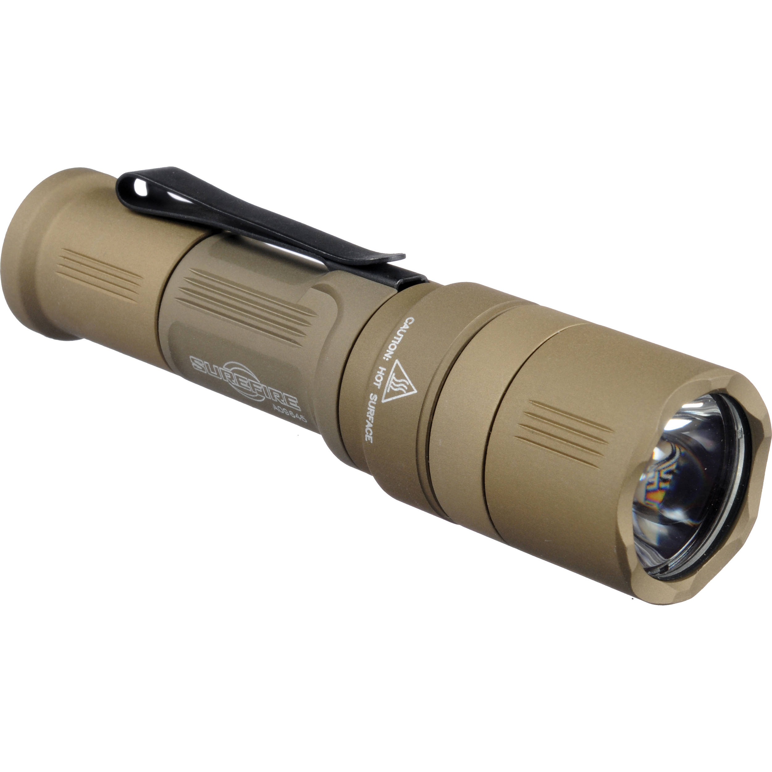 SureFire EB1 Backup LED Flashlight (Shrouded Tailcap, Desert Tan)