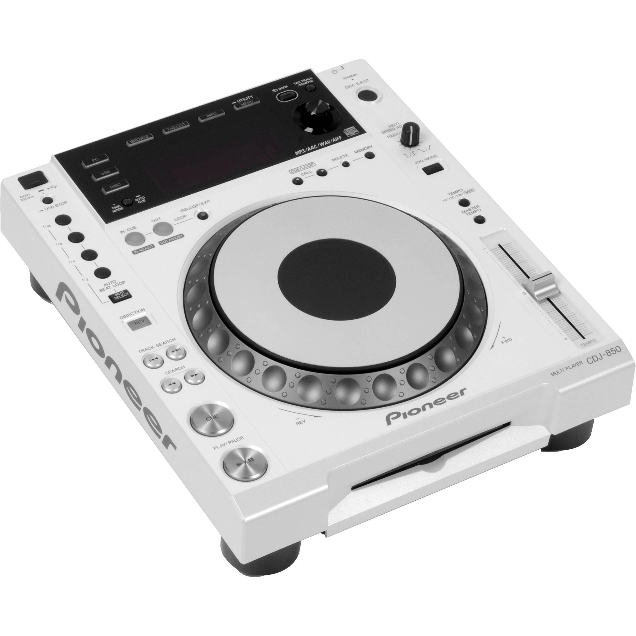 Pioneer CDJ-850 Performance Multi Player (White)