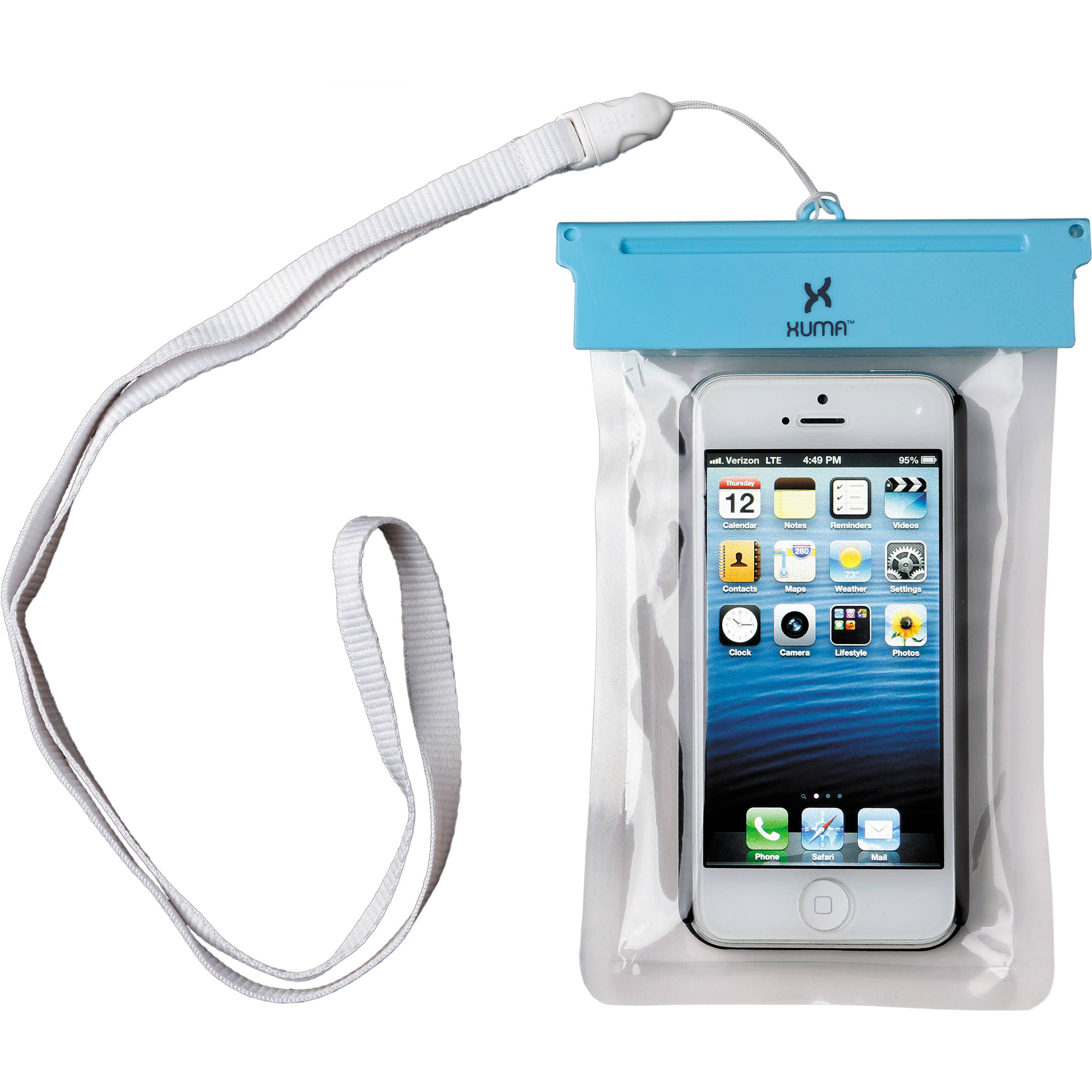 buy online b1313 90f59 Xuma Waterproof Pouch for iPhone 5, 5s & SE