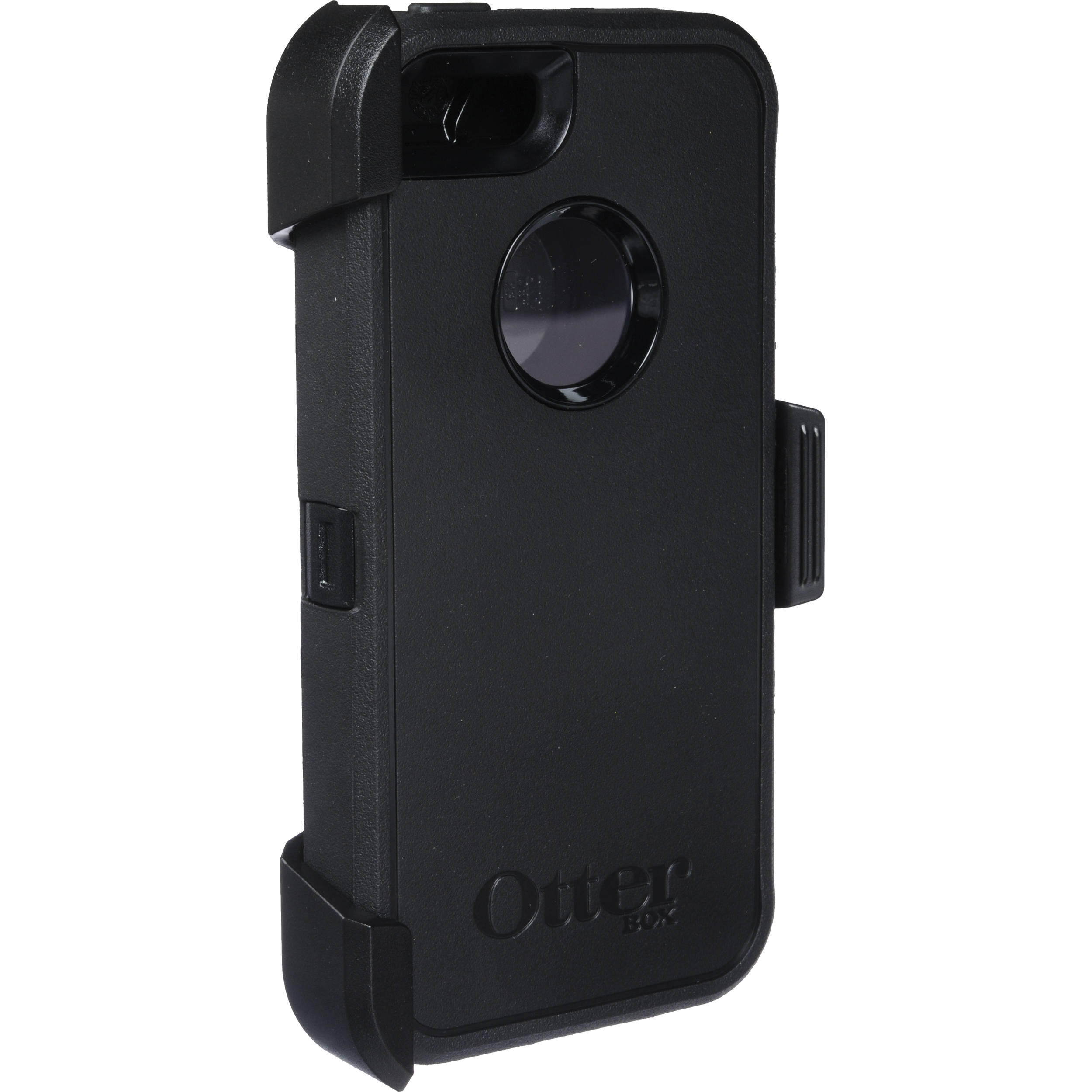 sports shoes 39c14 a7d99 OtterBox Defender Series Case for iPhone 5/5s/SE (Black)