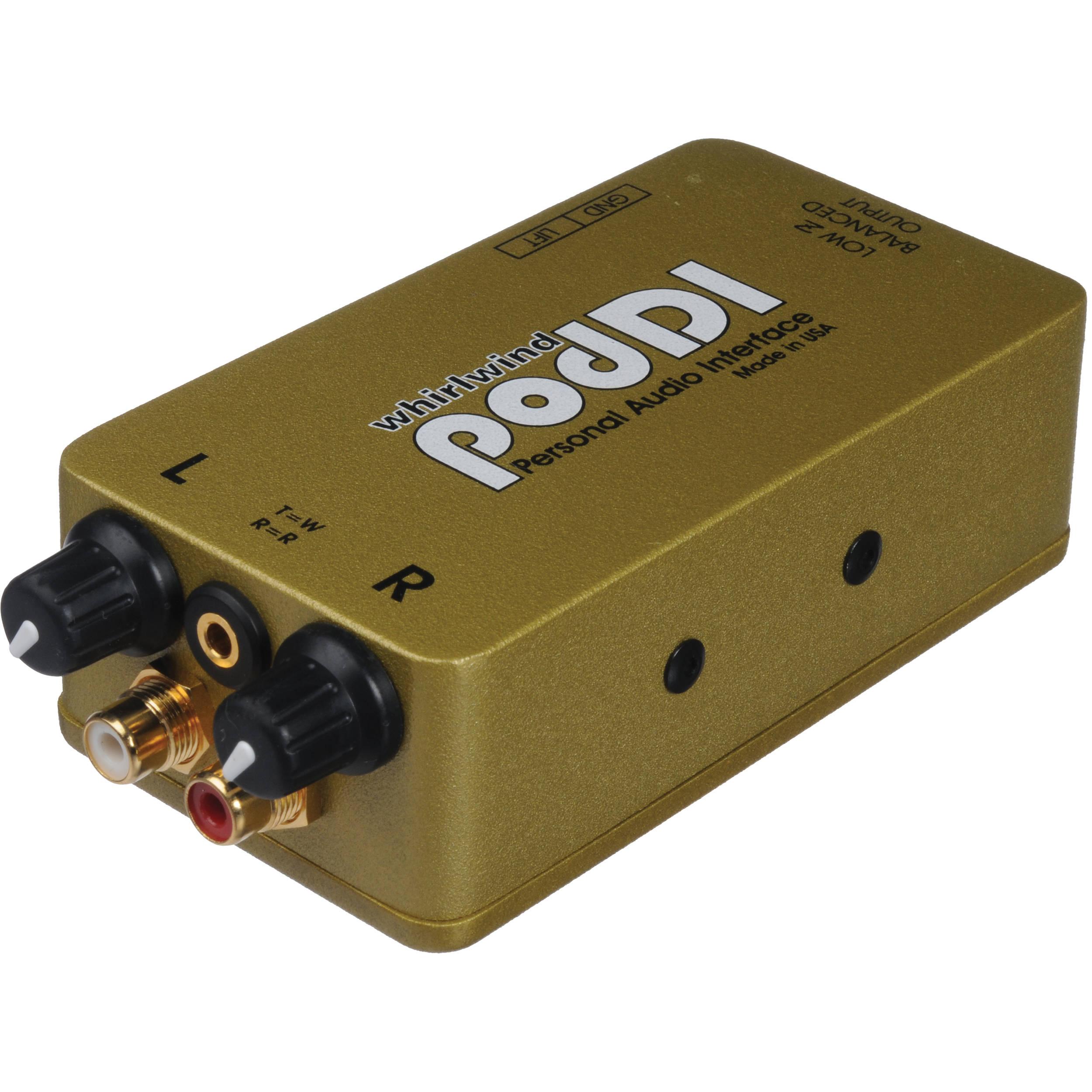 Whirlwind podDI - Personal Audio Interface