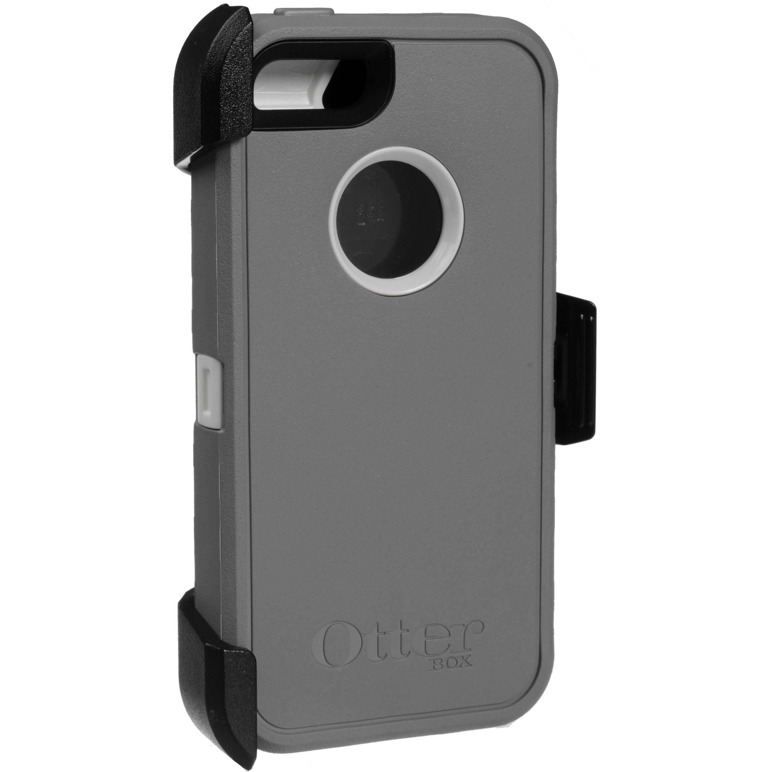 info for df0b1 c6fd7 OtterBox Defender Series Case for iPhone 5/5s/SE (Glacier)