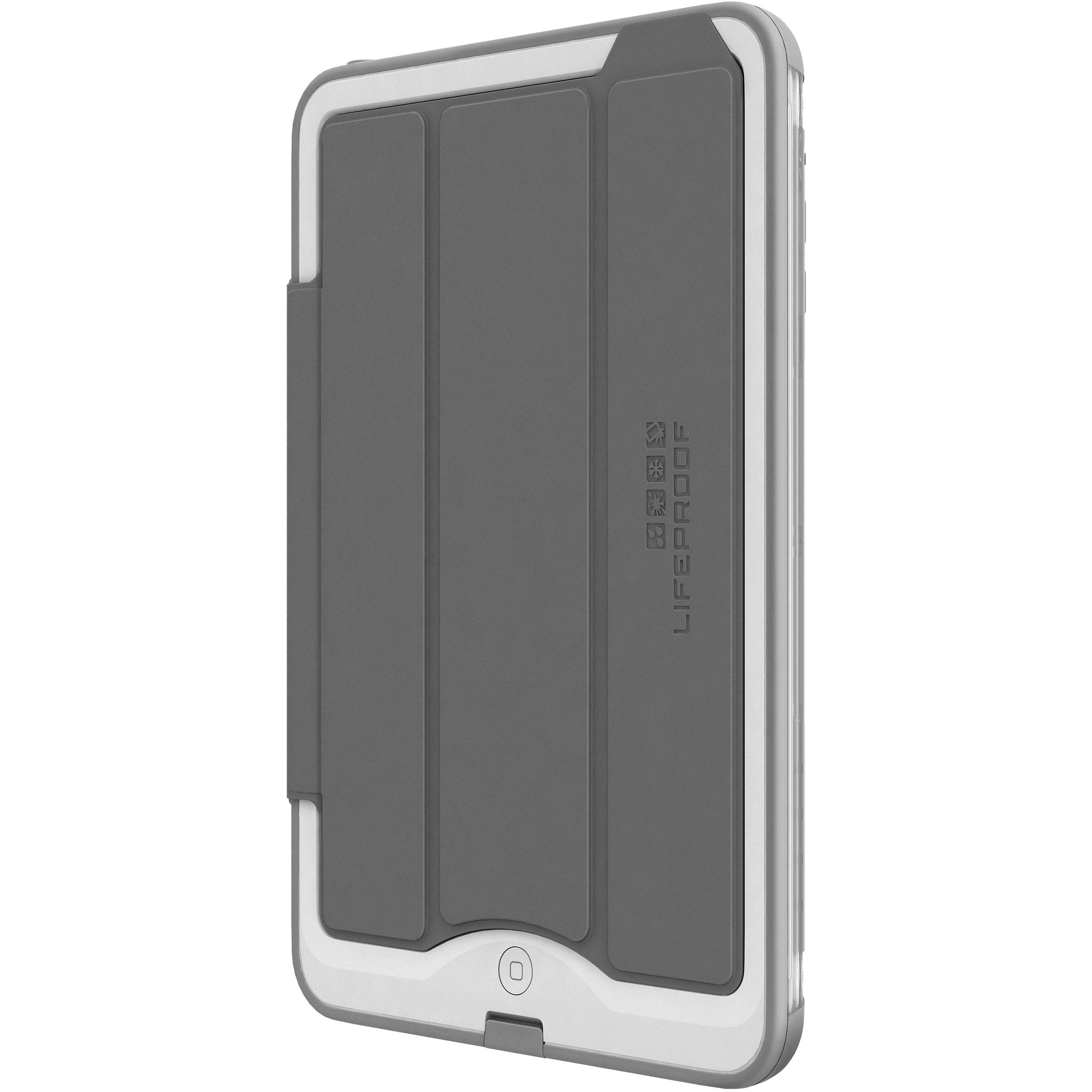 size 40 df6e1 133d3 LifeProof Portfolio Cover/Stand for the iPad mini 1/2/3 nüüd (Gray)