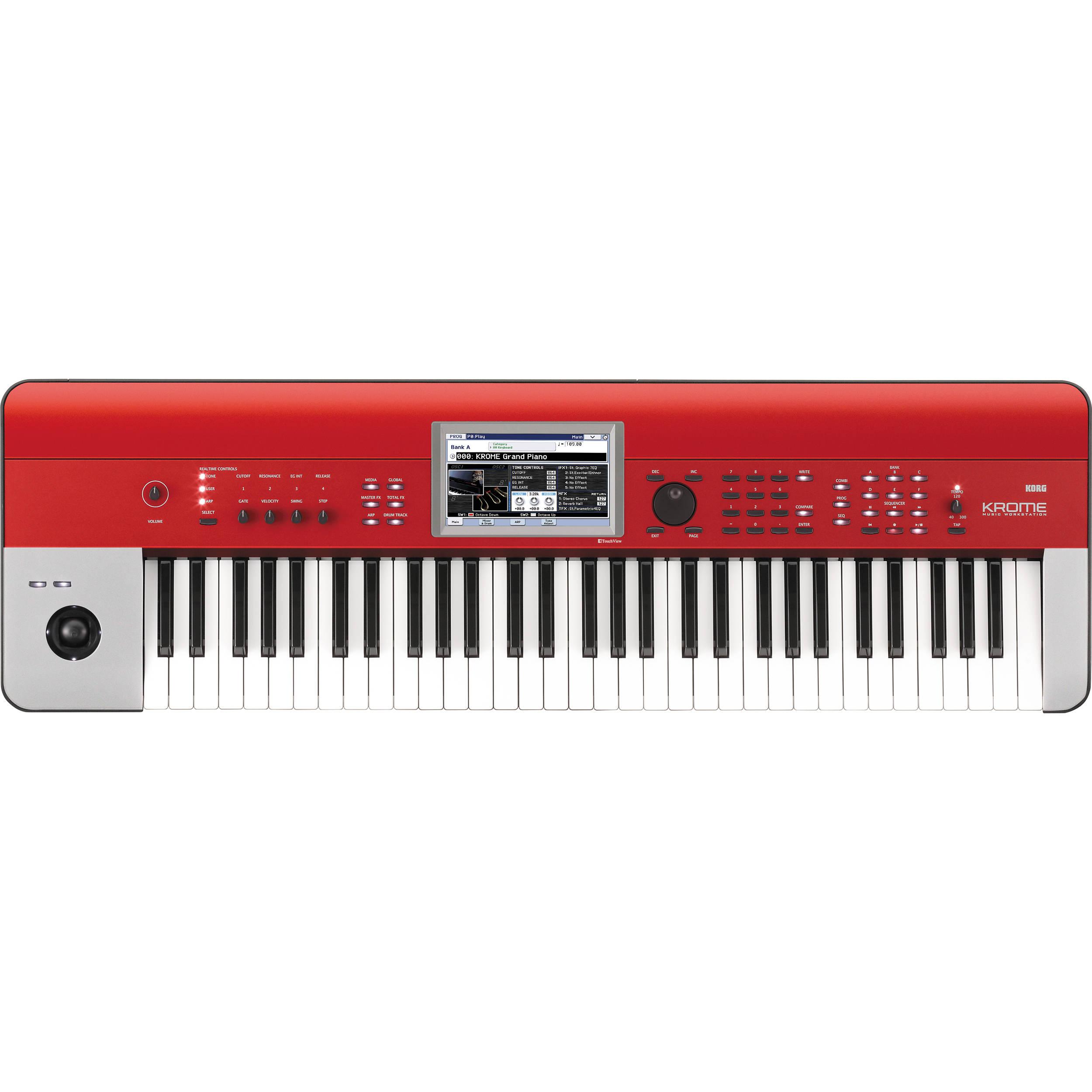 Korg Krome - Music Workstation (Red)