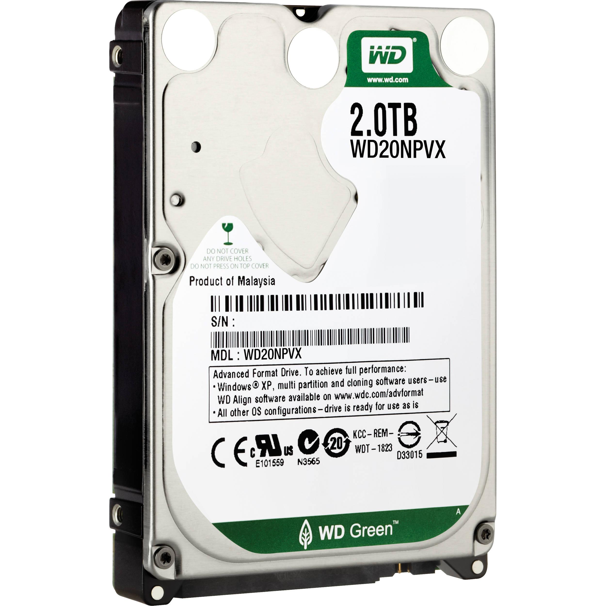 WD 2TB Green 2 5