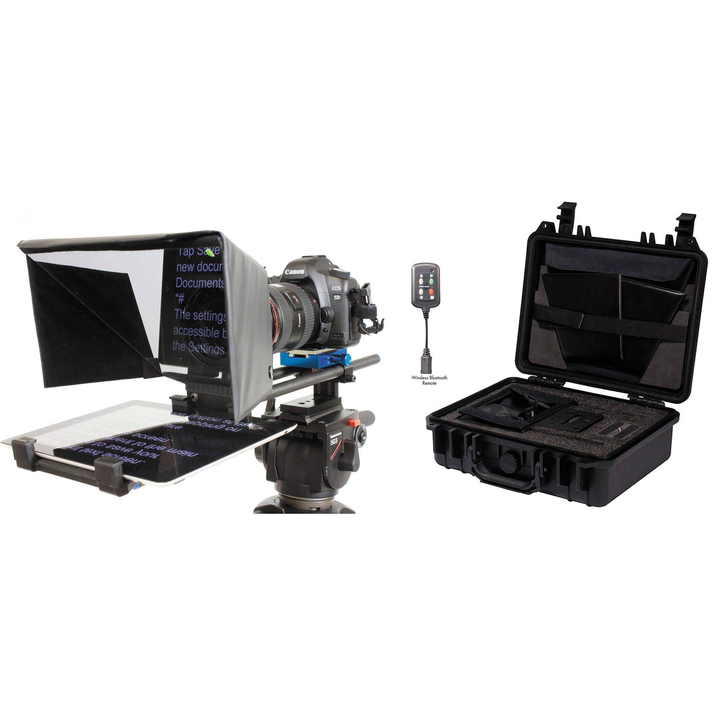 Datavideo TP500 PK Teleprompter Kit with Hard Case