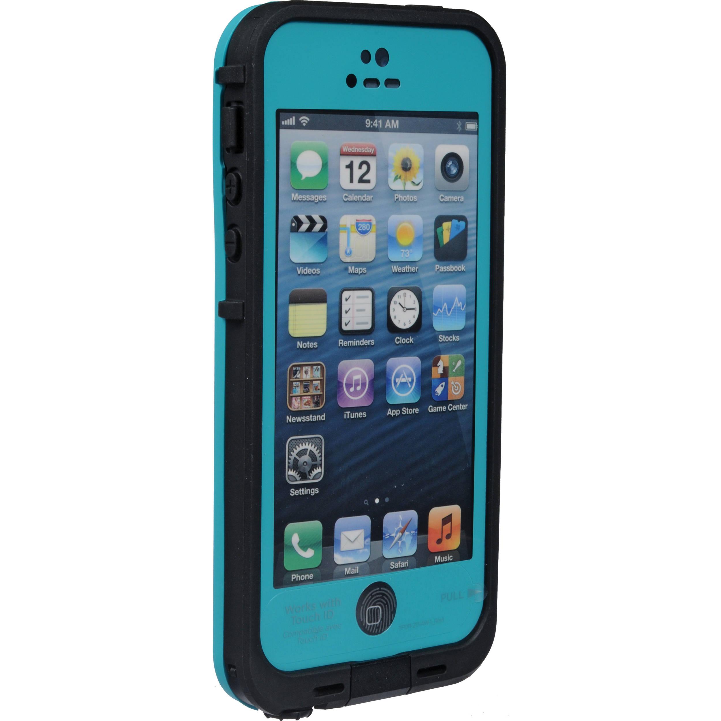 timeless design c18e2 05b3c LifeProof frē Case for iPhone 5/5s/SE (Teal/Black)