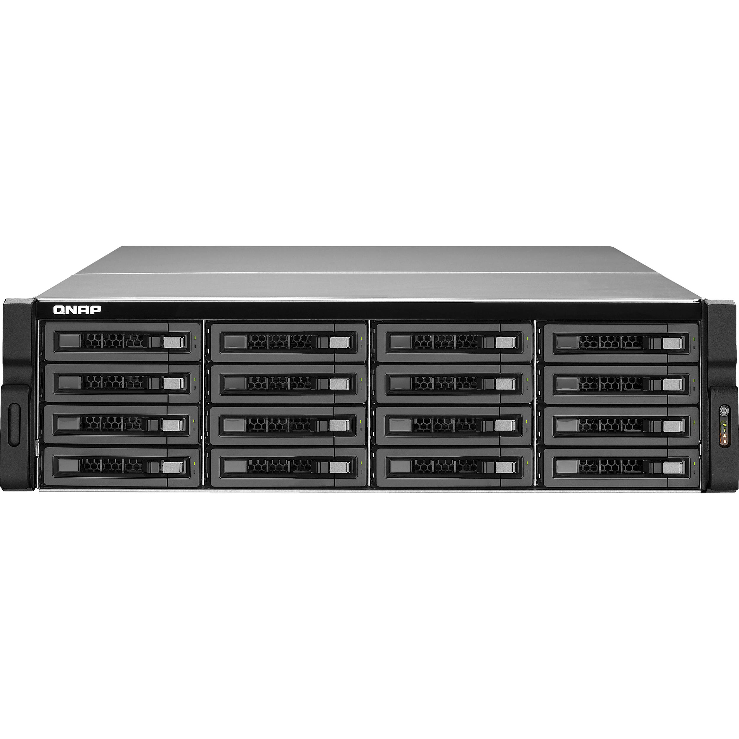 QNAP TS-EC1679U-SAS-RP 16-Bay SAS/SATA-Enabled Unified Storage