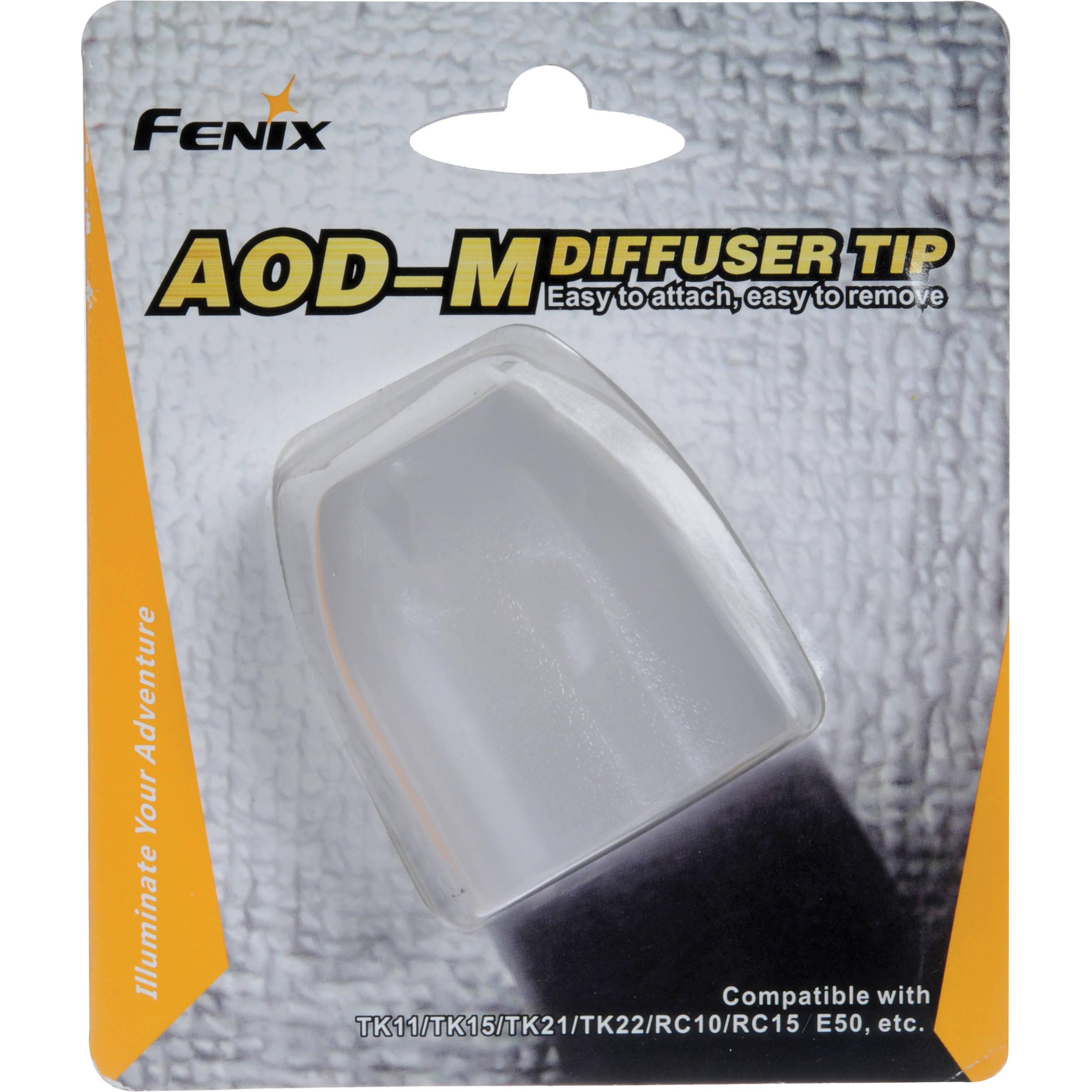 Diffuser Fenix White M Aod Tip Flashlight 5AjL43R
