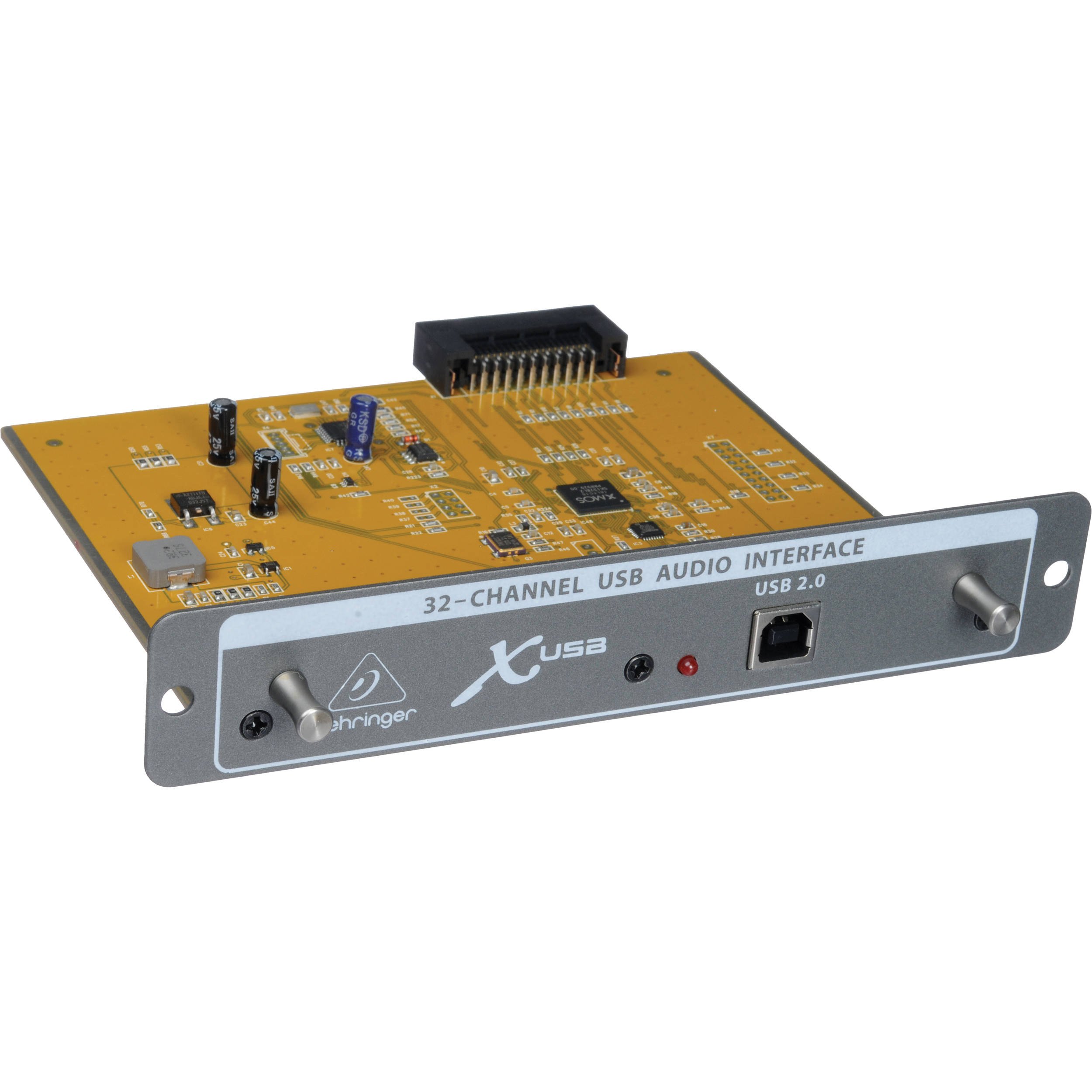 Behringer X-USB 32-Channel USB 2 0 Audio Interface Expansion Card For X32  Mixer