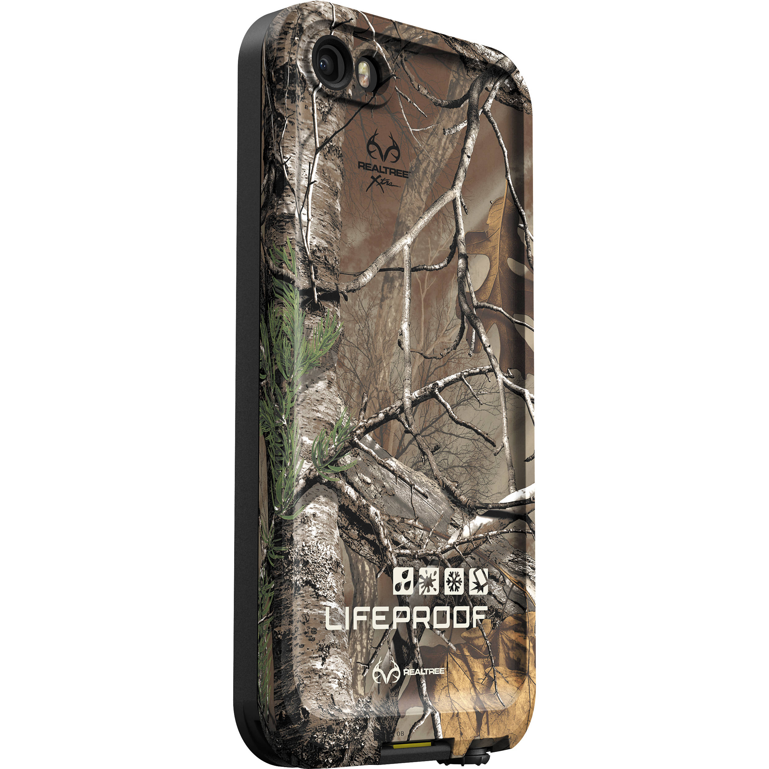 new style ca342 e1476 LifeProof frē Case for iPhone 5/5s/SE (Black/RealTree Xtra)