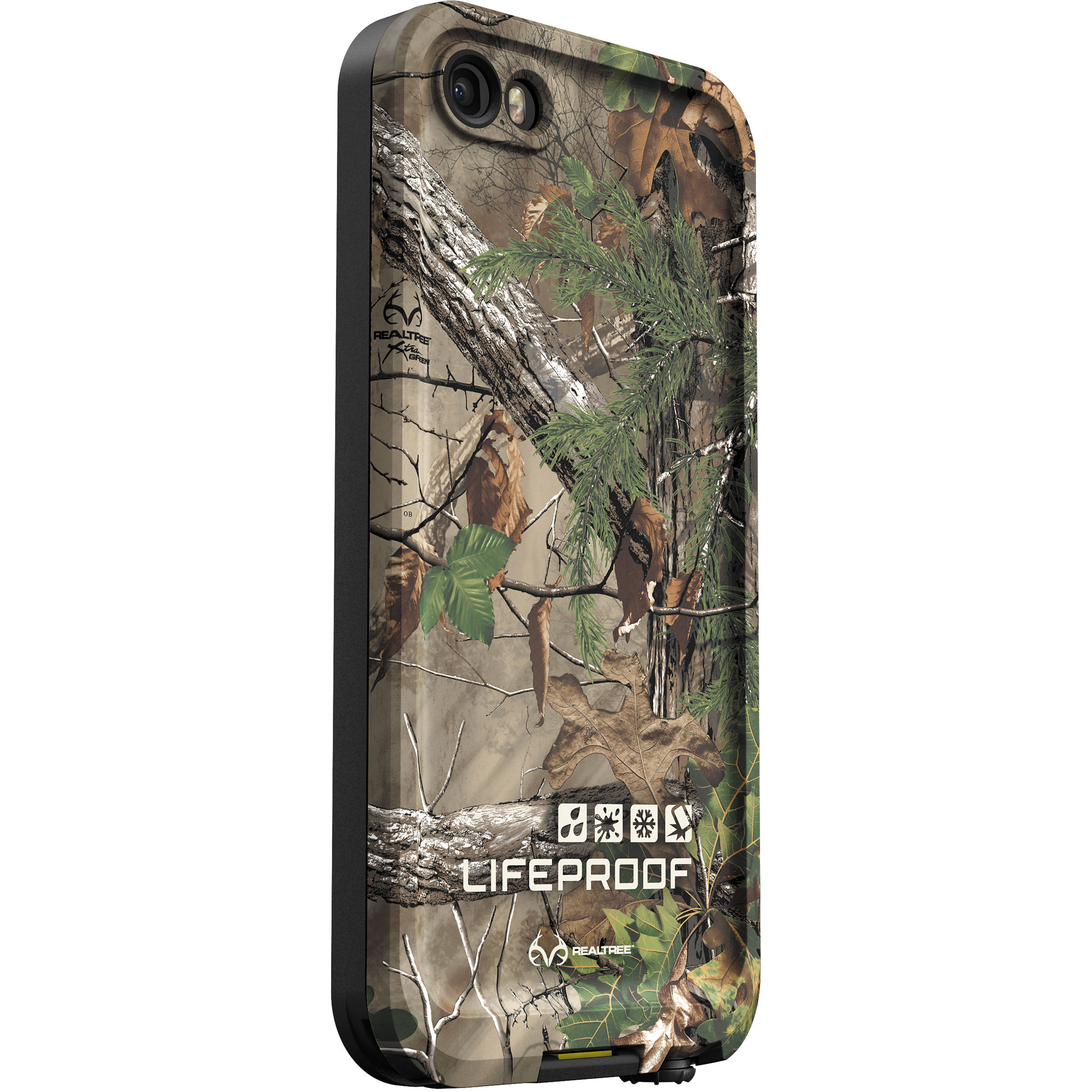 new concept f44dc 117ad LifeProof frē Case for iPhone 5/5s/SE (Olive Drab/RealTree Xtra Green)
