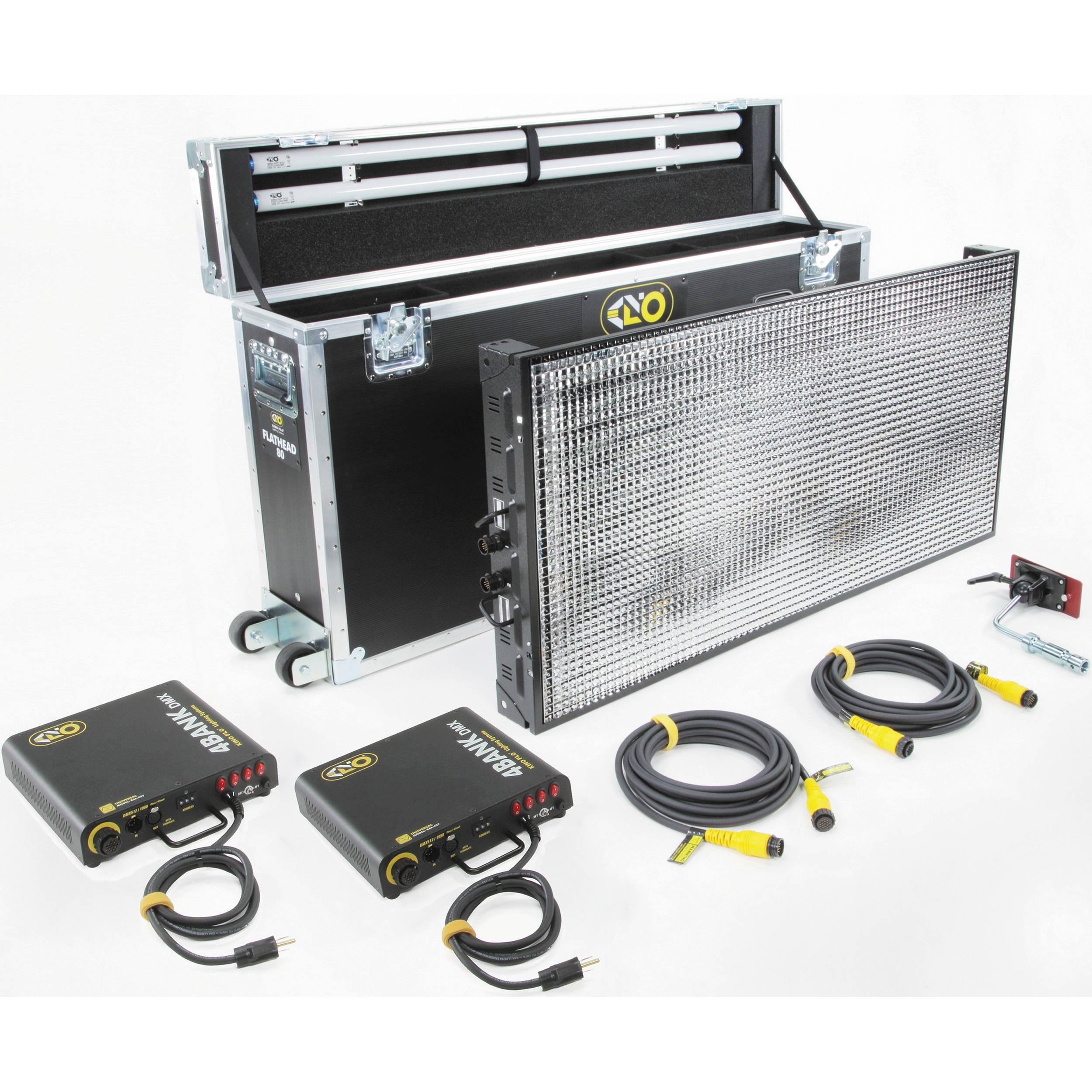 Kino Flo Flathead 80 DMX System Kit (Europlug)
