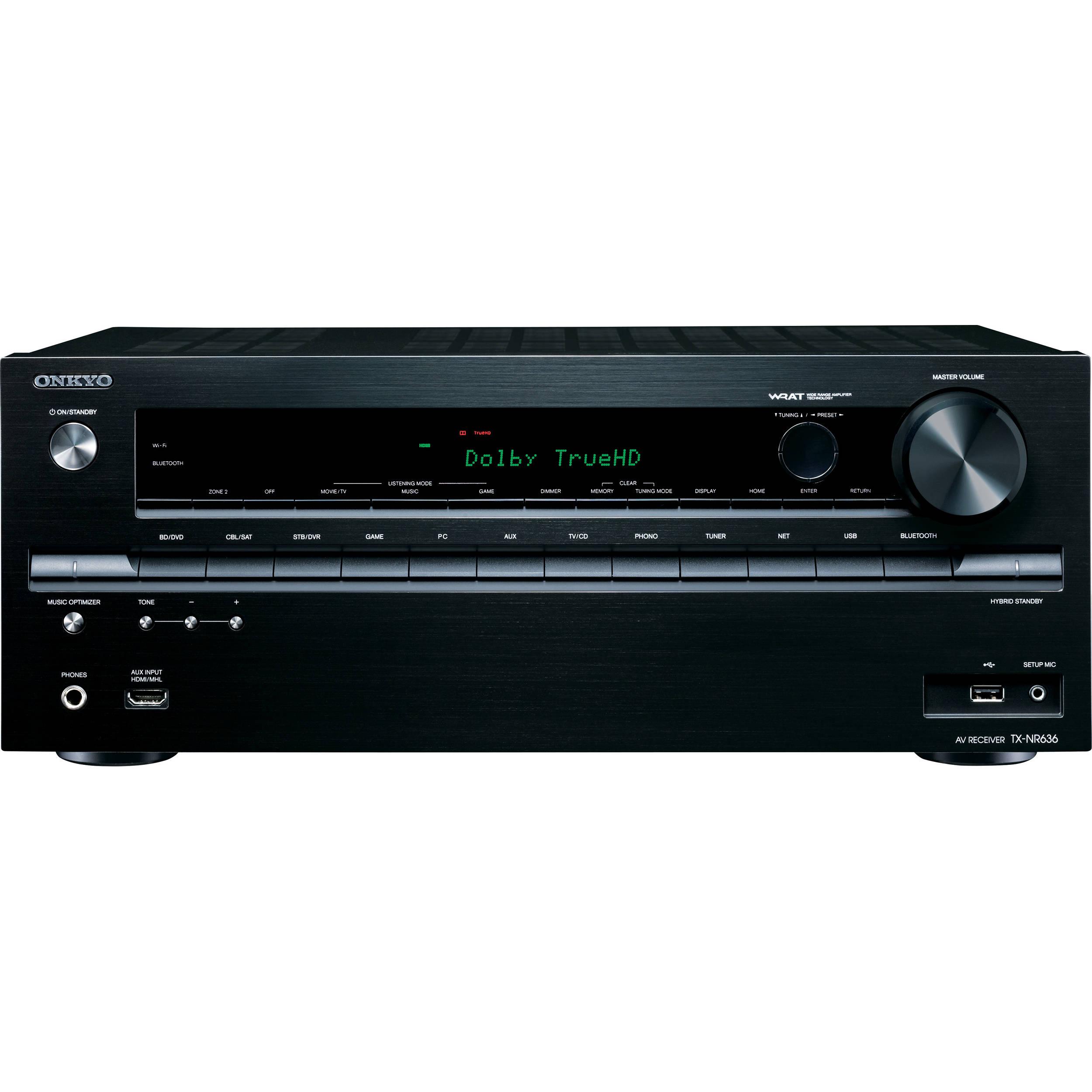 Onkyo TX-NR636 7 2-Channel Network AV Receiver
