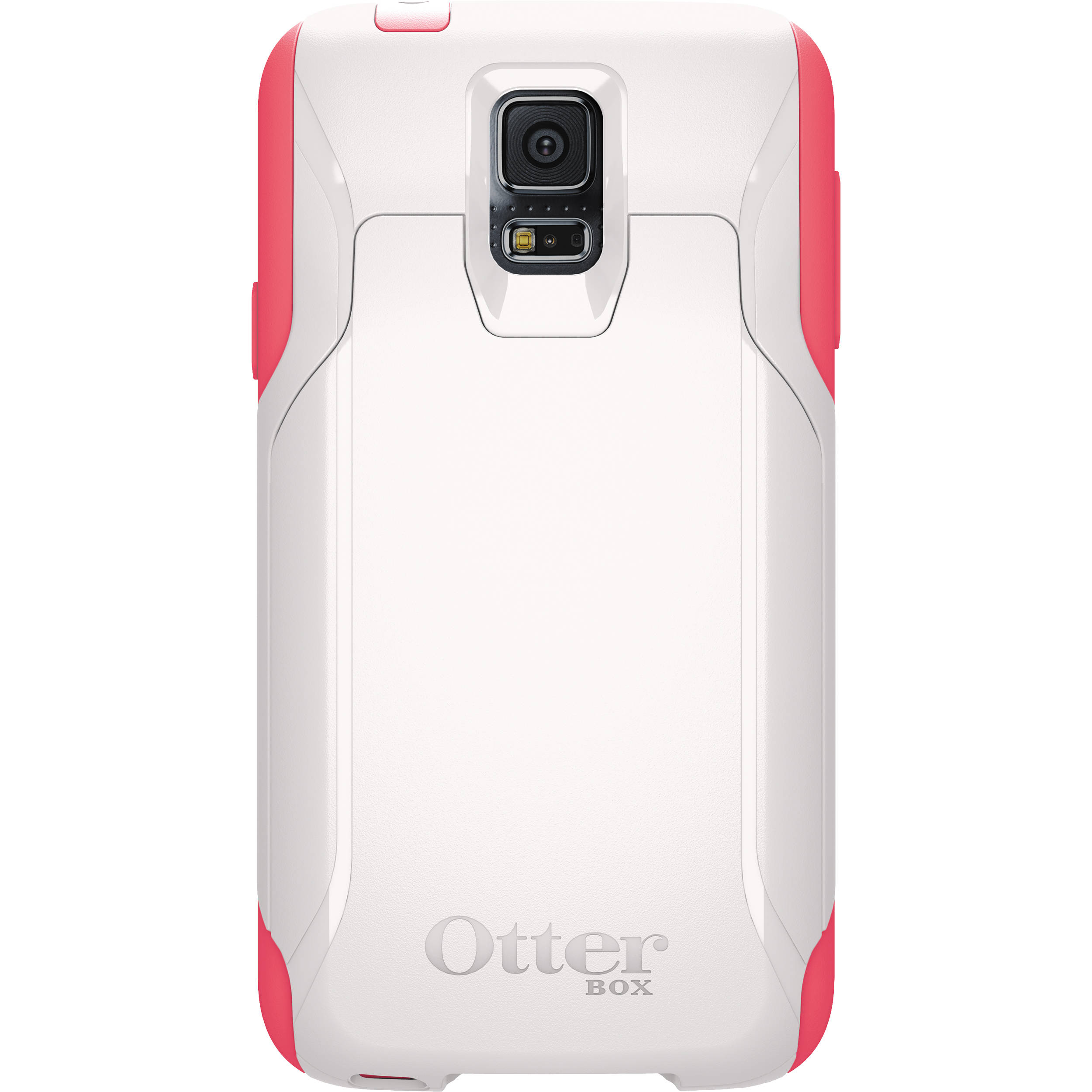 cheap for discount b3fcd 19fe4 OtterBox Commuter Wallet Case for Galaxy S5 (White/Pink)
