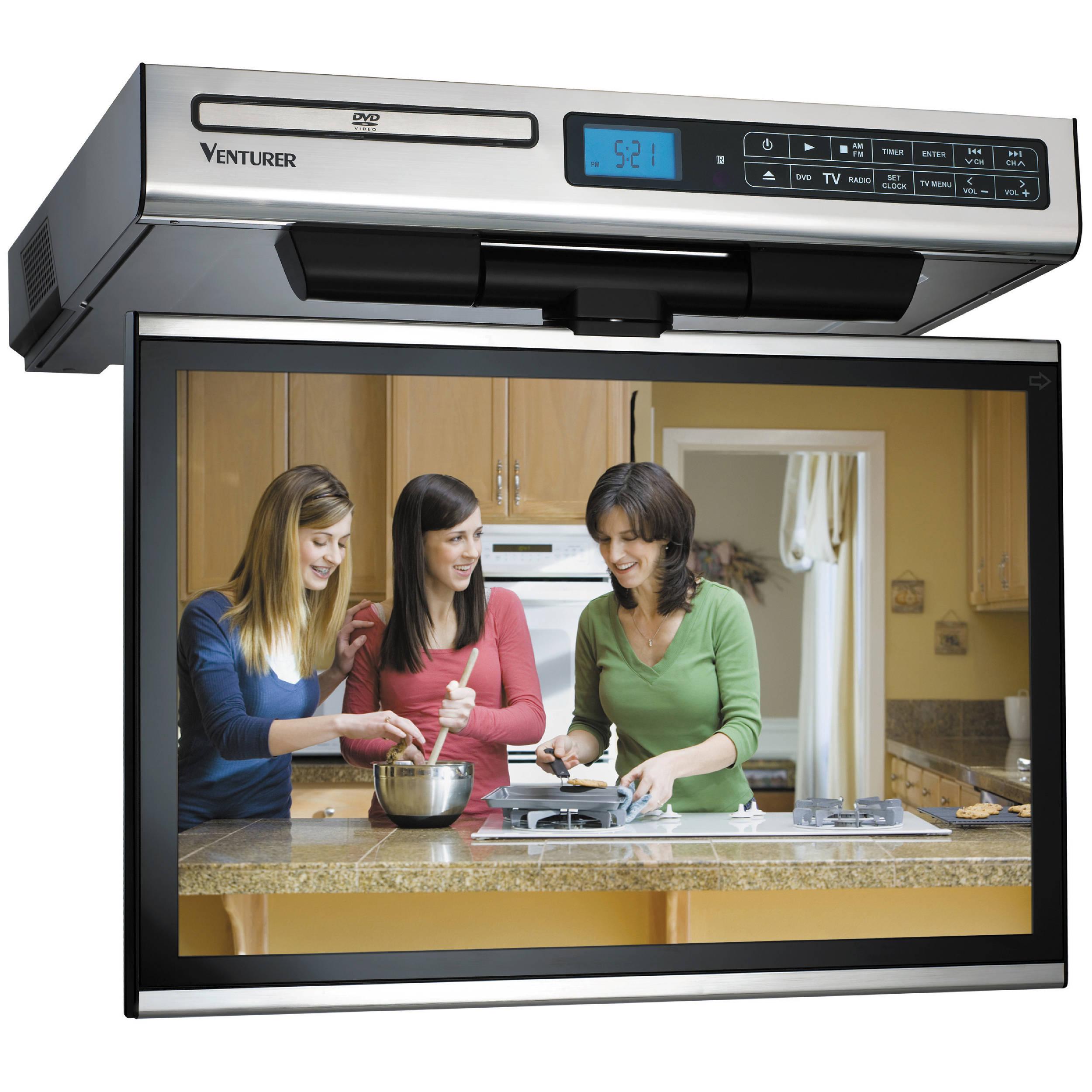 Venturer Klv3915 15 4 Kitchen Lcd Tv Dvd Combo