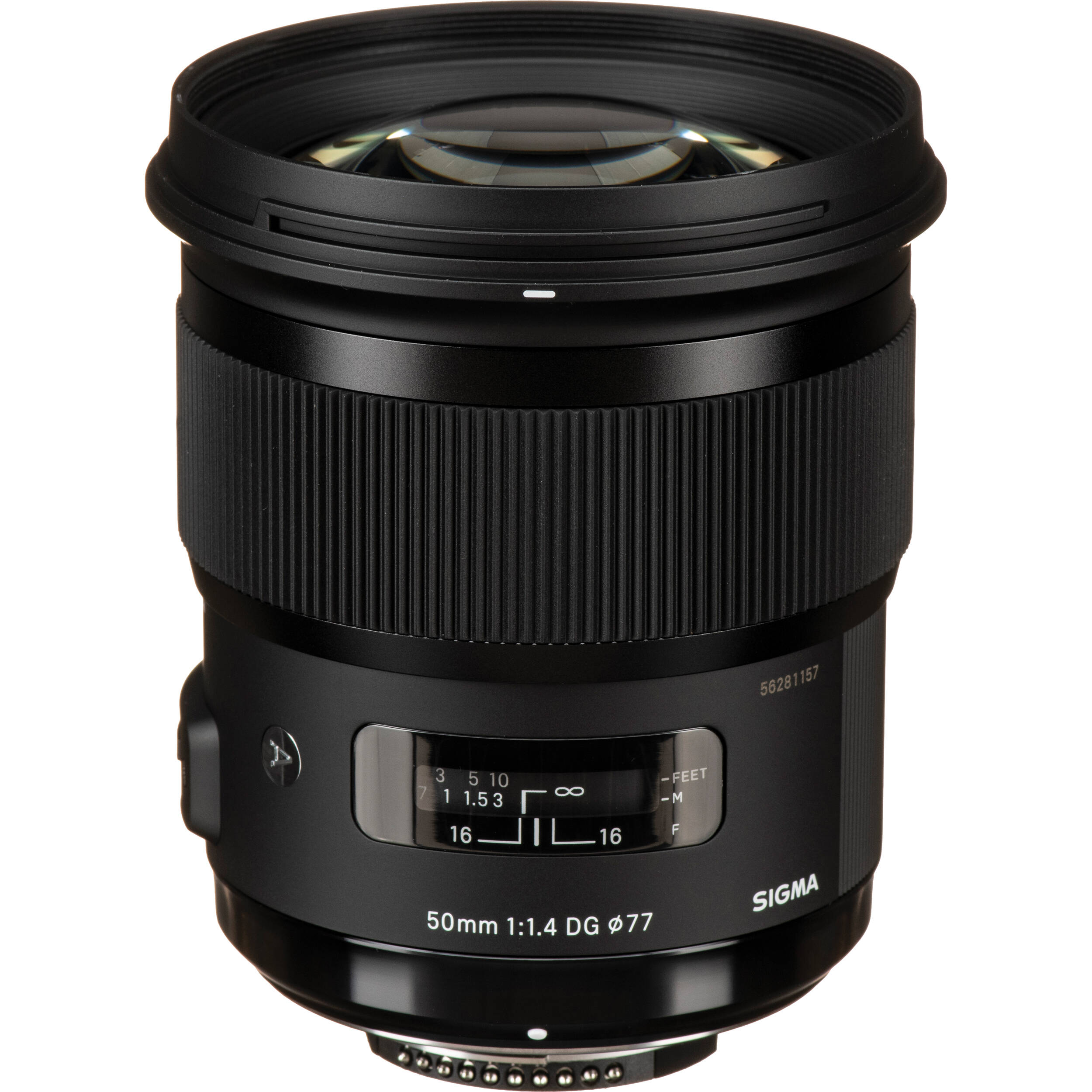 Sigma 50mm F 1 4 Dg Hsm Art Lens For Canon Ef 311101 B H Photo
