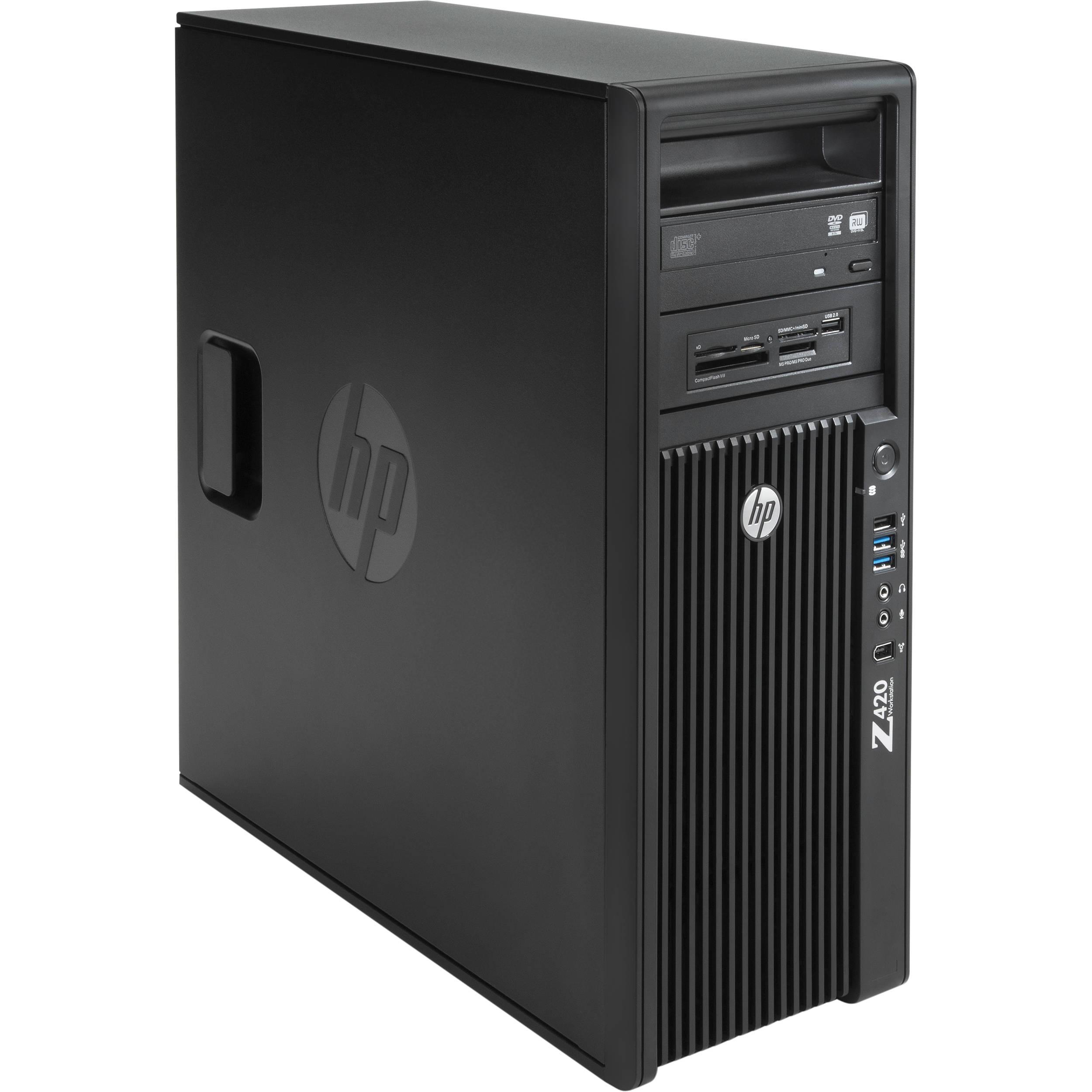 HP Z420 Series F1L05UT Mini-Tower Workstation