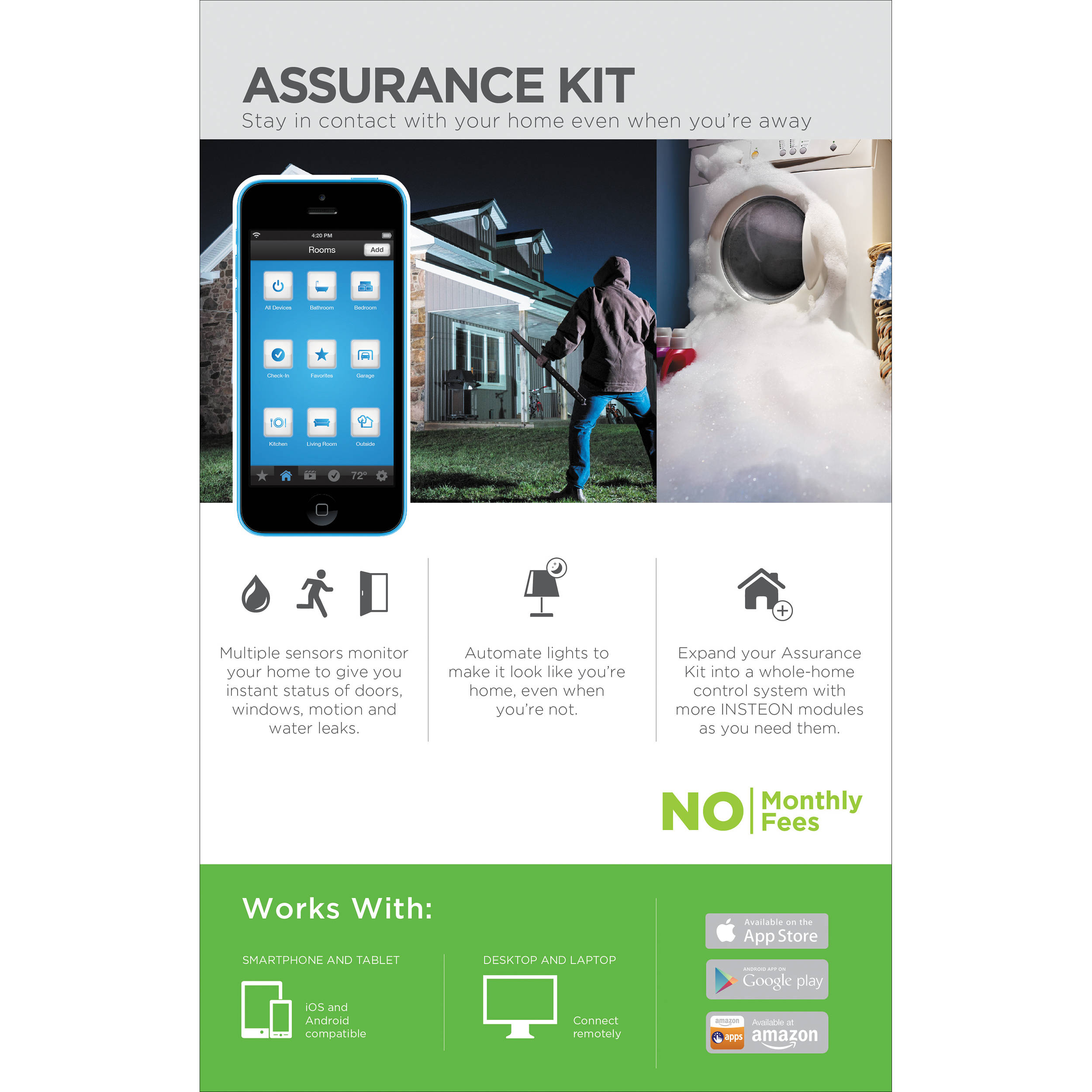 INSTEON Assurance Home Automation Kit