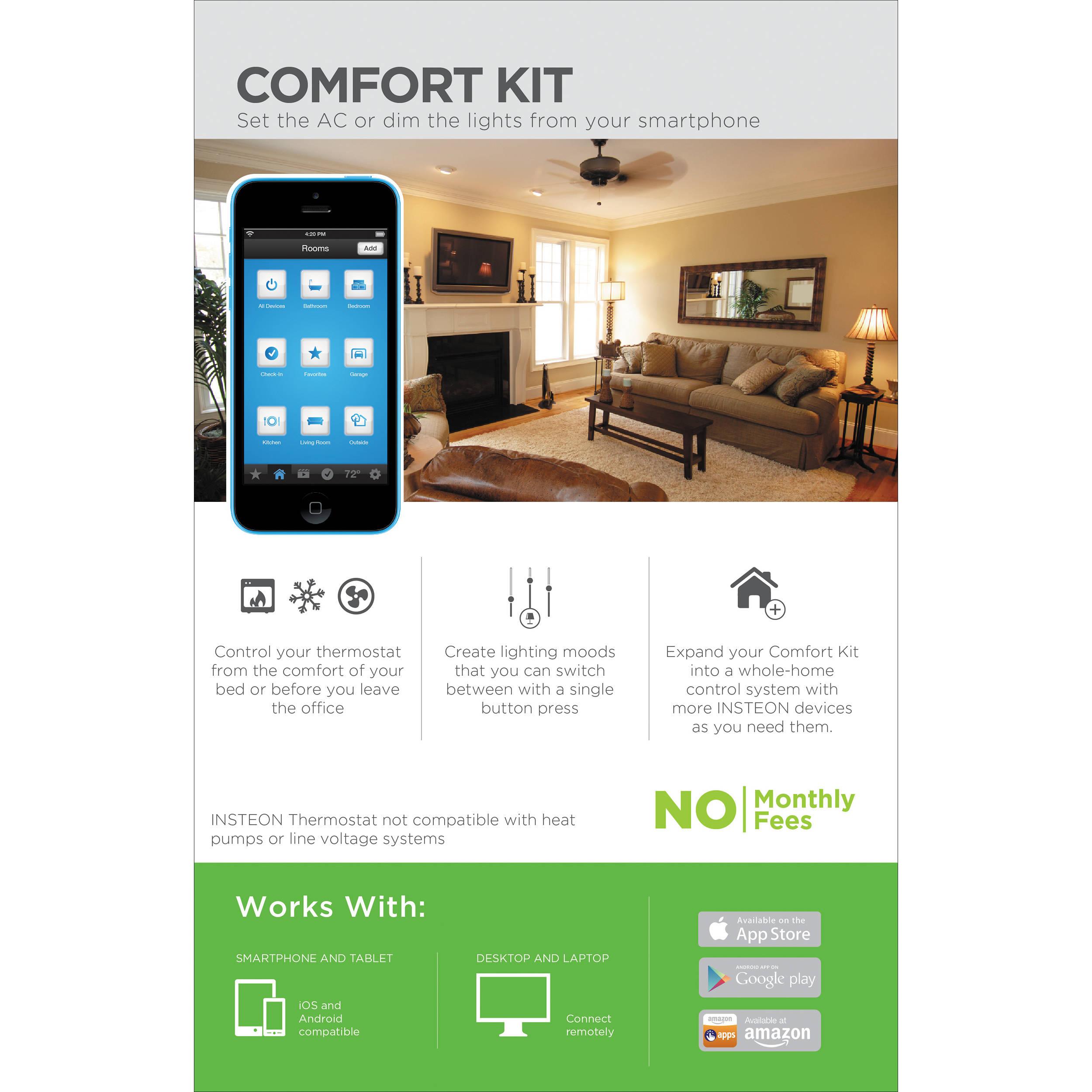 INSTEON Comfort Home Automation Kit